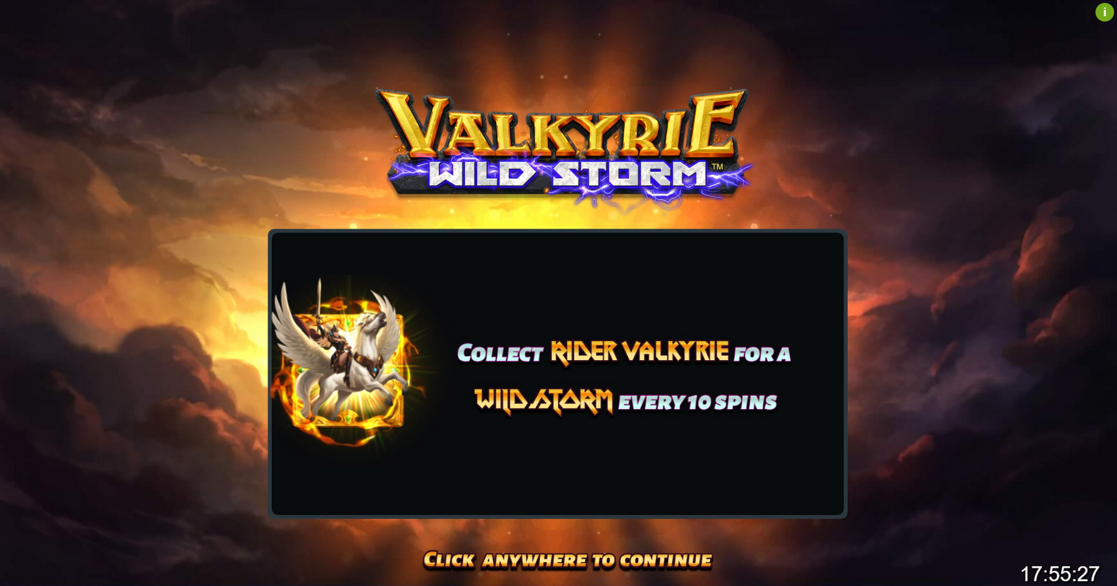 Play Valkyrie Wild Storm Free Casino Slot Game by Boomerang Studios