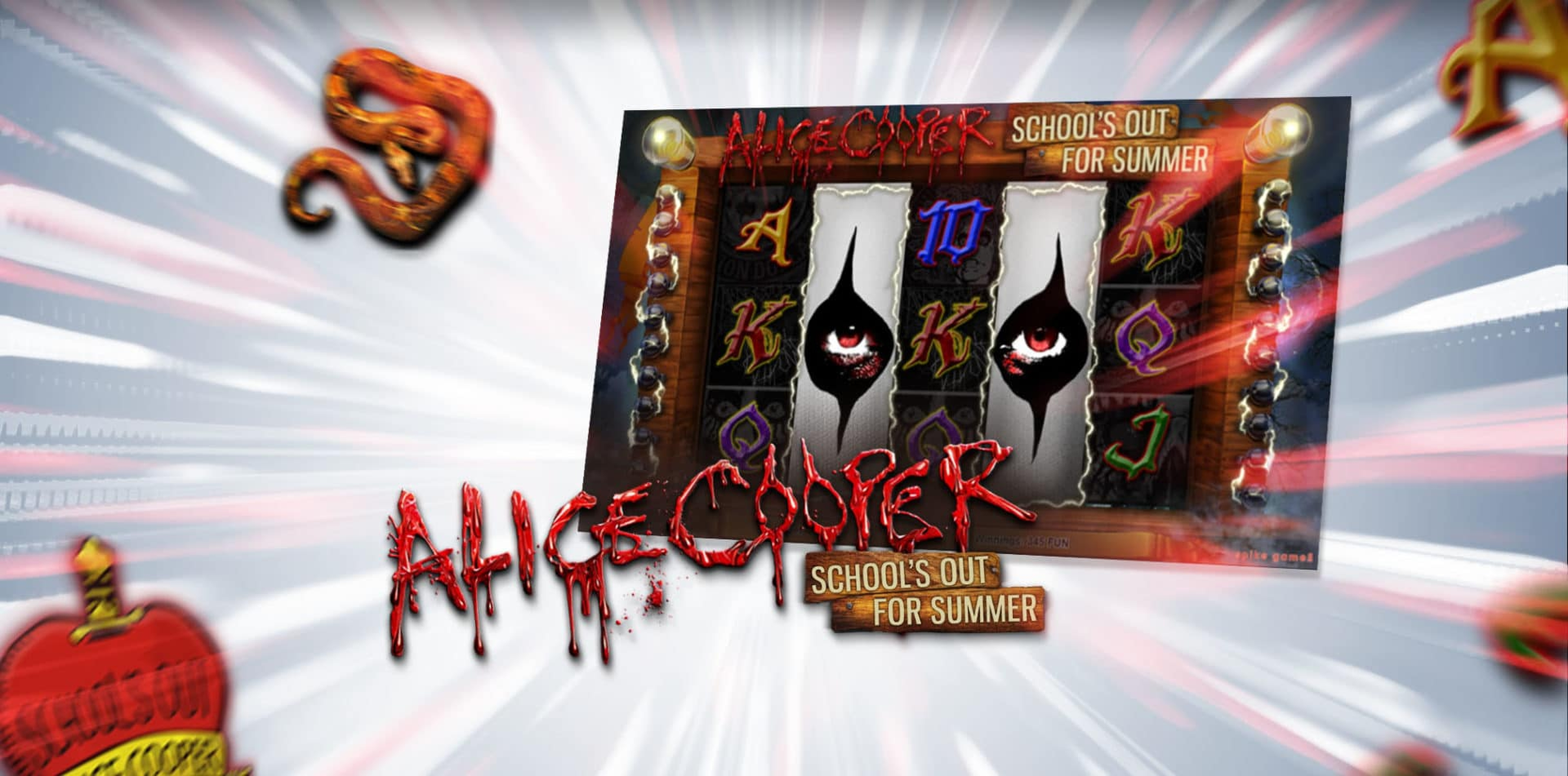 The Alice Cooper Online Slot Demo Game by FunFair