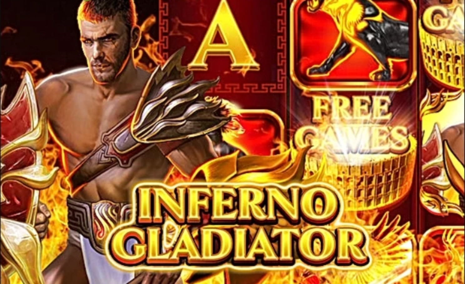 The Inferno Gladiator Online Slot Demo Game by GONG Gaming Technologies