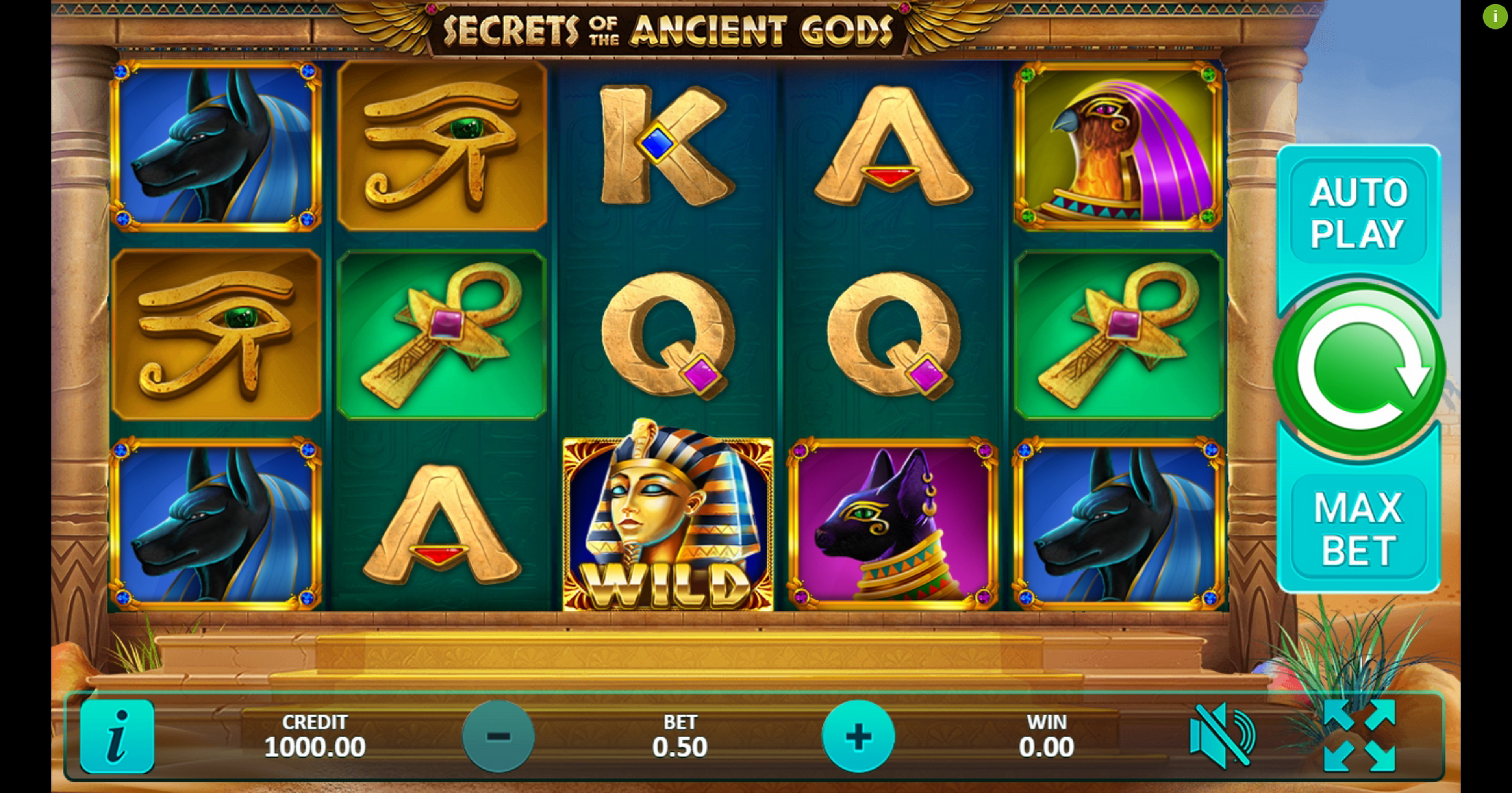 Reels in Secrets of the Ancient Gods Slot Game by Gamefish Global