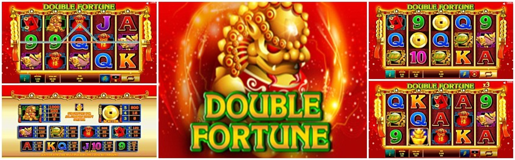 The Double Fortune (Oryx) Online Slot Demo Game by Givme Games
