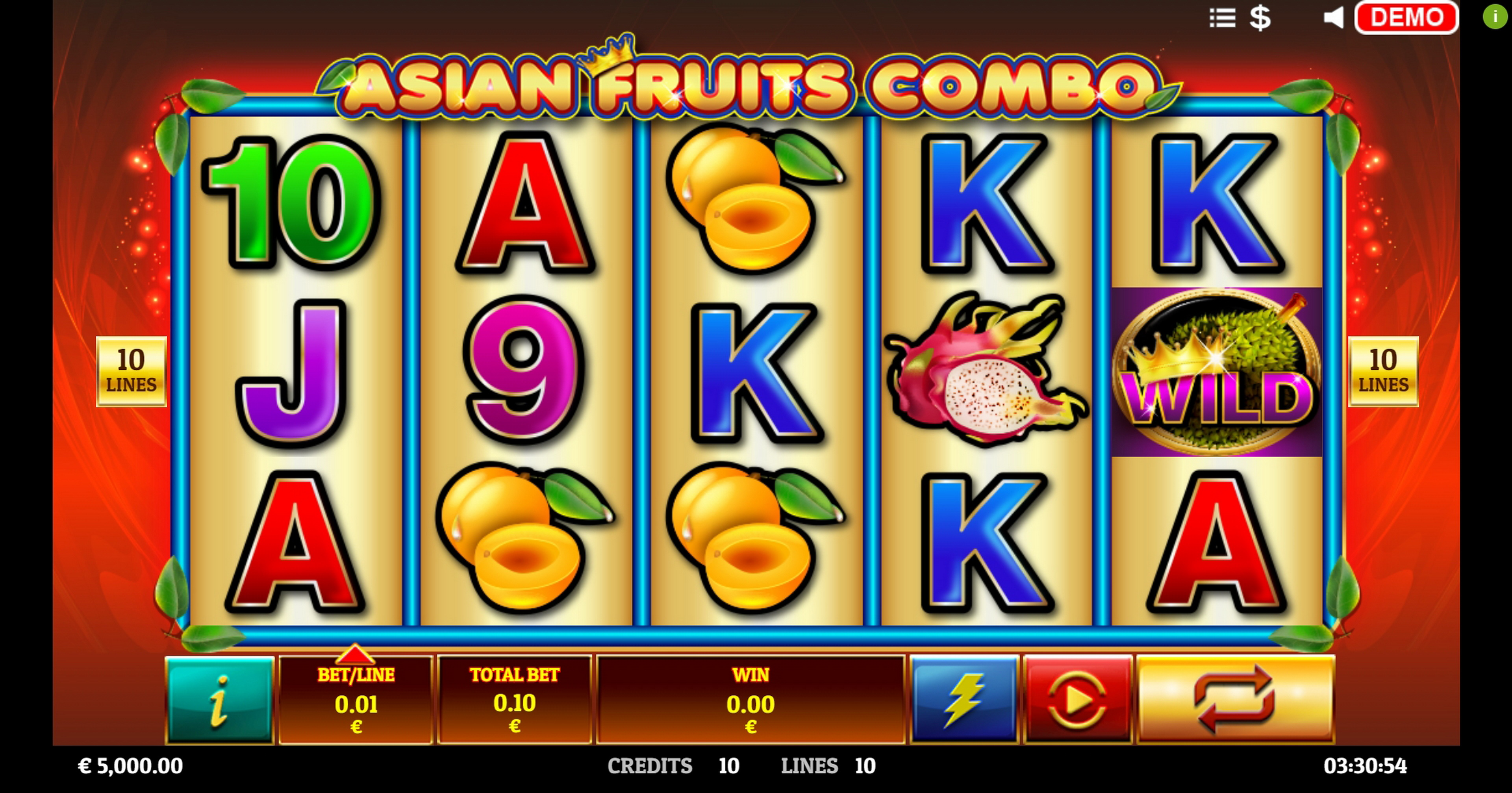 Reels in Fruit King (Givme Games) Slot Game by Givme Games