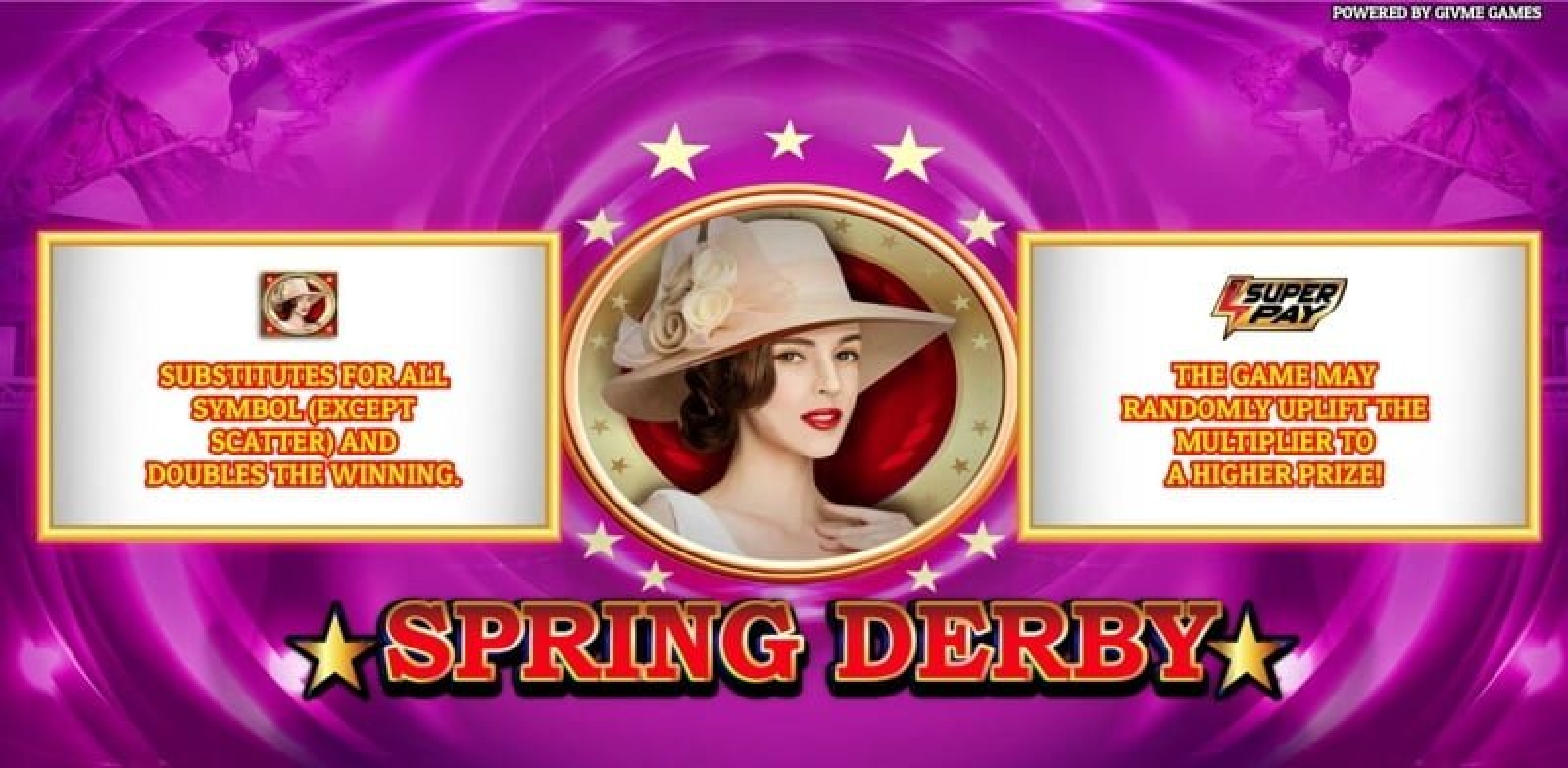 The Spring Derby Online Slot Demo Game by Givme Games