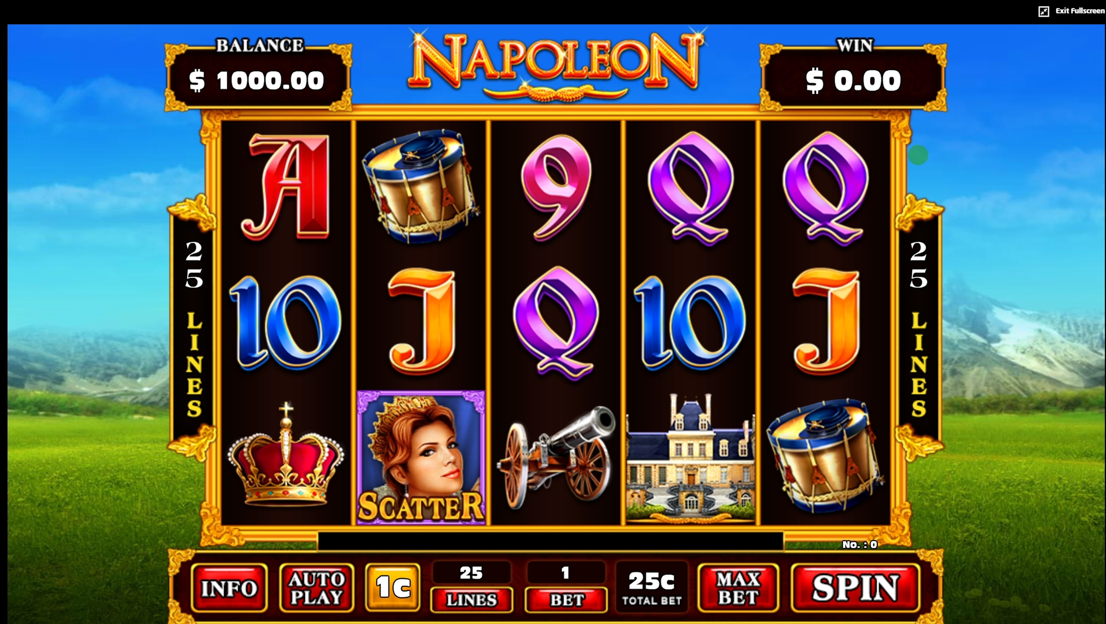 Reels in Napoleon (JDB168) Slot Game by JDB168
