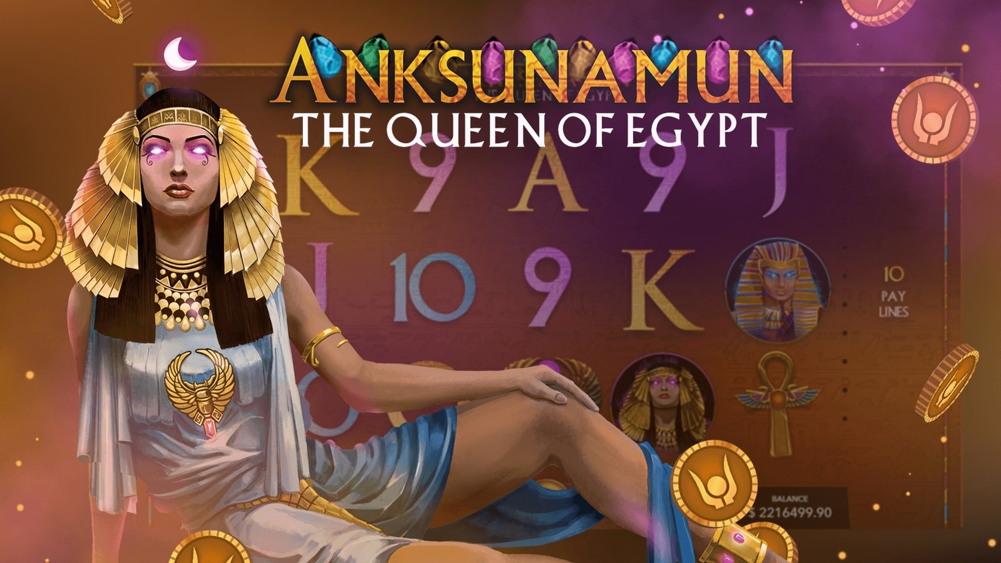 The Anksunamun Online Slot Demo Game by Mascot Gaming