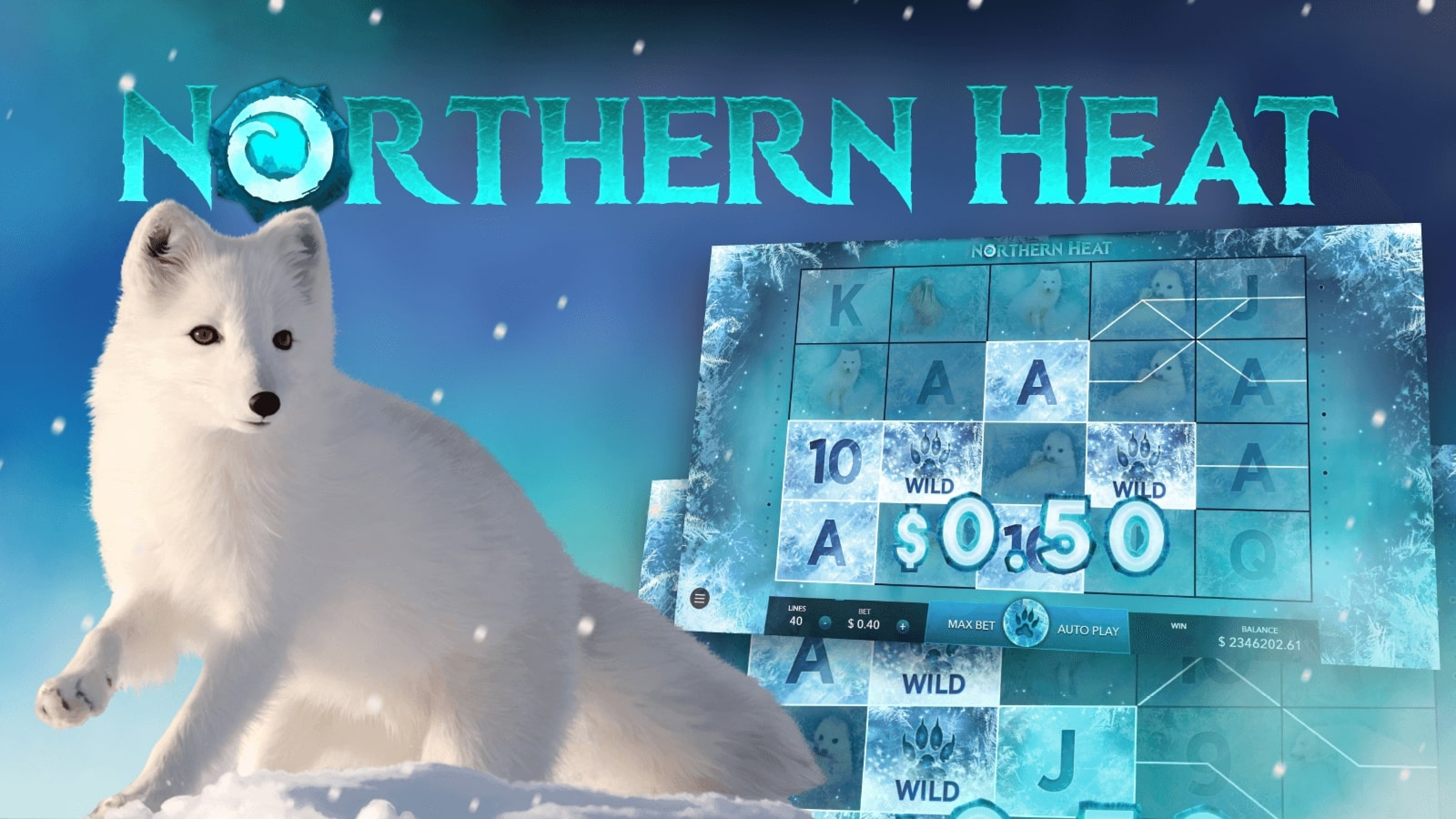 The Northern Heat Online Slot Demo Game by Mascot Gaming