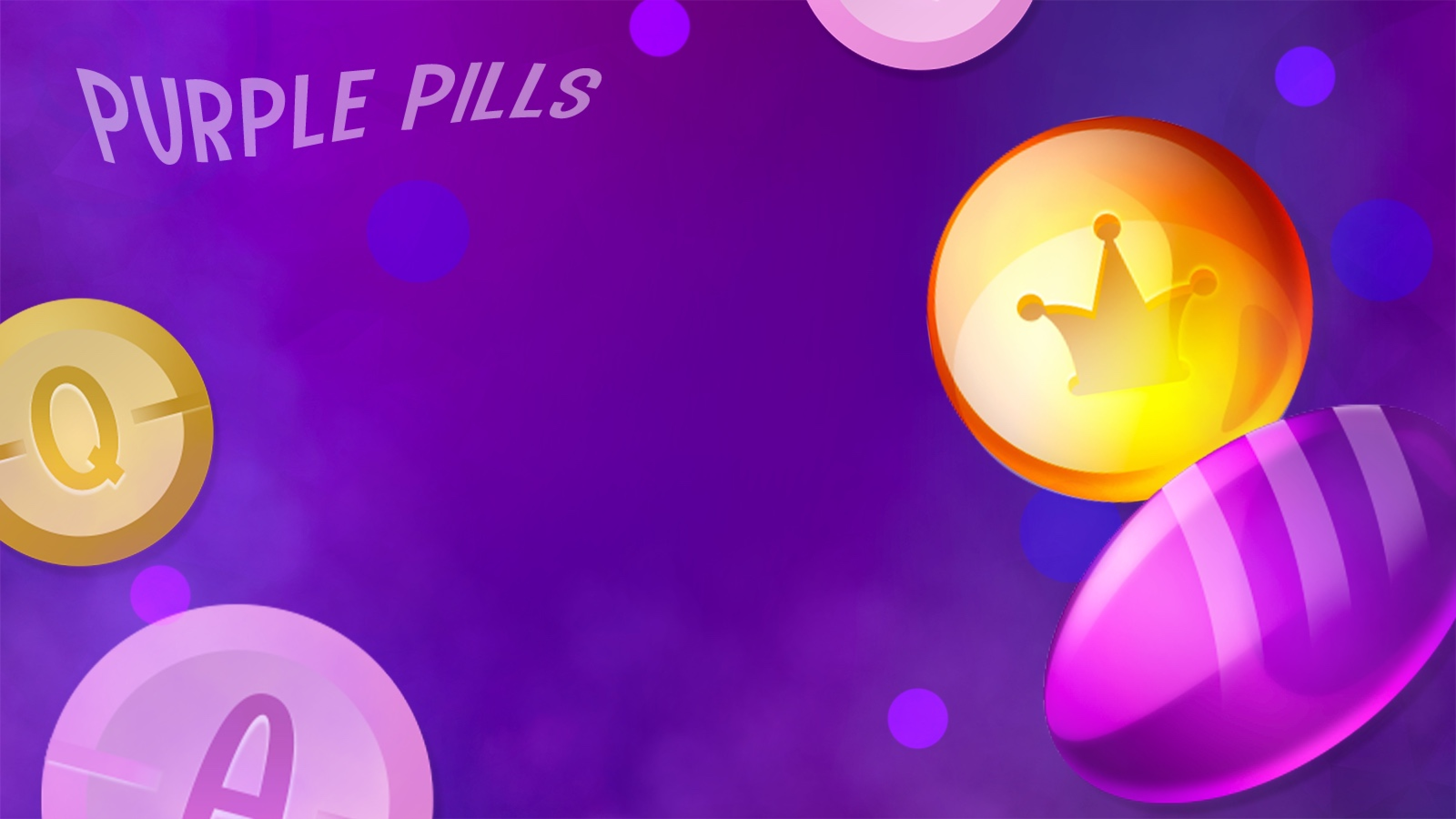 The Purple Pills Online Slot Demo Game by Mascot Gaming