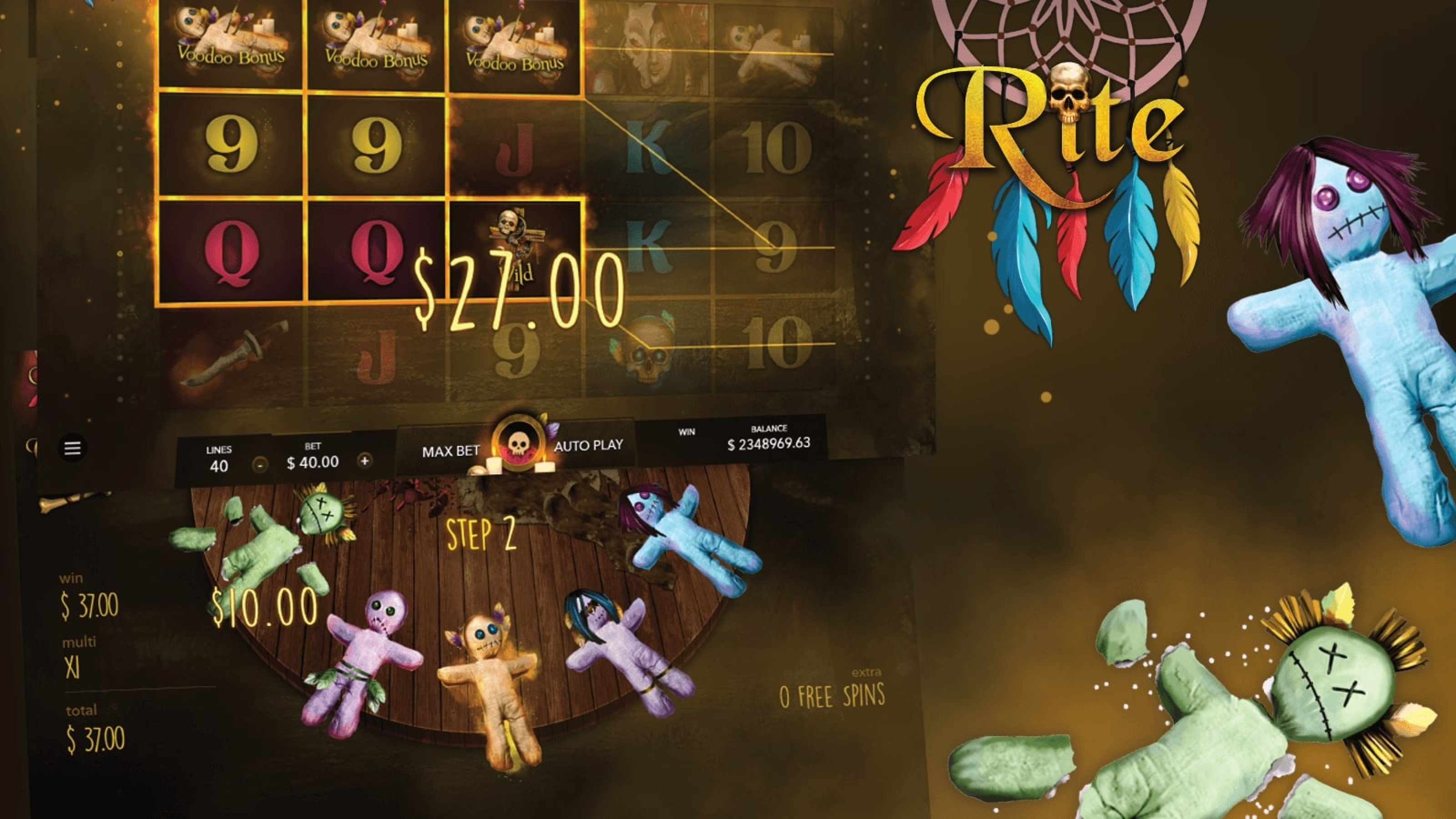 The The Rite Online Slot Demo Game by Mascot Gaming