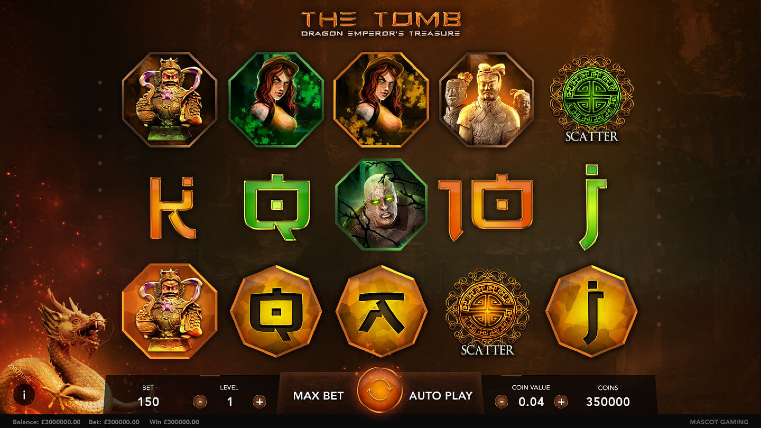 The The Tomb Online Slot Demo Game by Mascot Gaming
