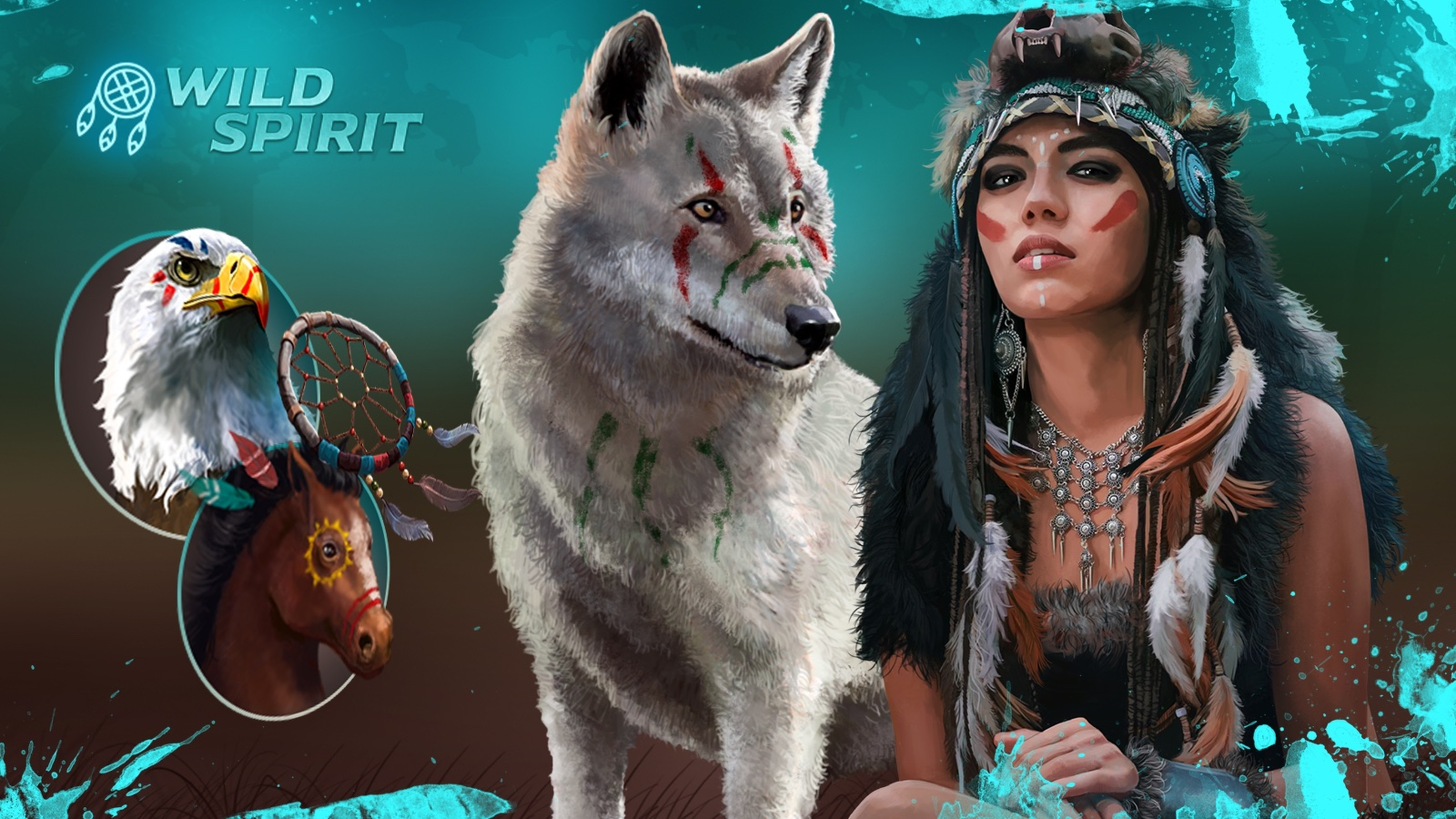 The Wild Spirit (Mascot Gaming) Online Slot Demo Game by Mascot Gaming