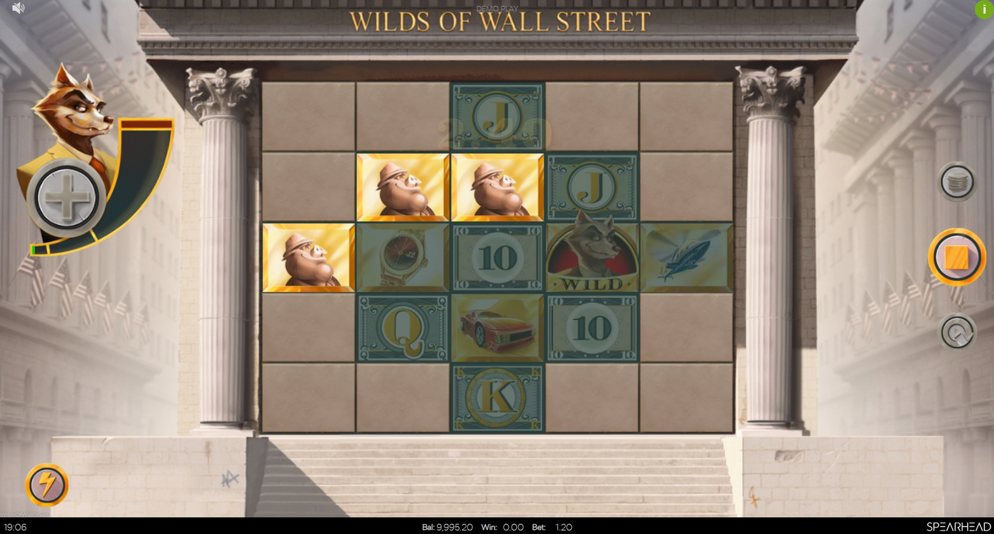 Win Money in Wilds of Wall Street Free Slot Game by Spearhead Studios