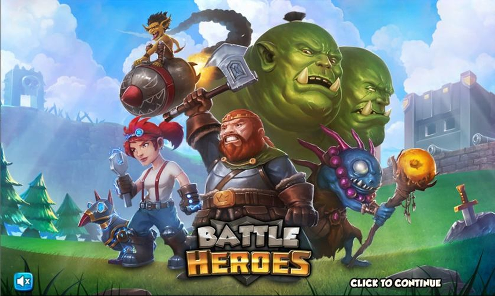 Win Money in Battle Heroes Free Slot Game by Swintt