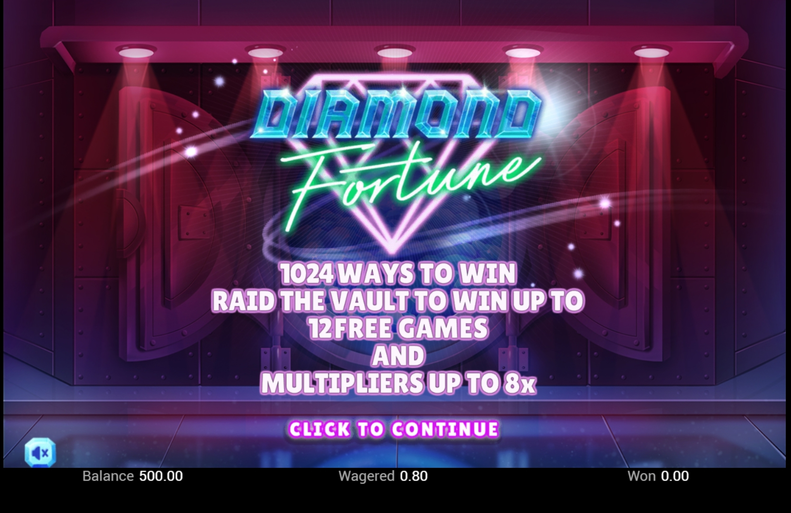 Win Money in Diamond Fortune Free Slot Game by Swintt