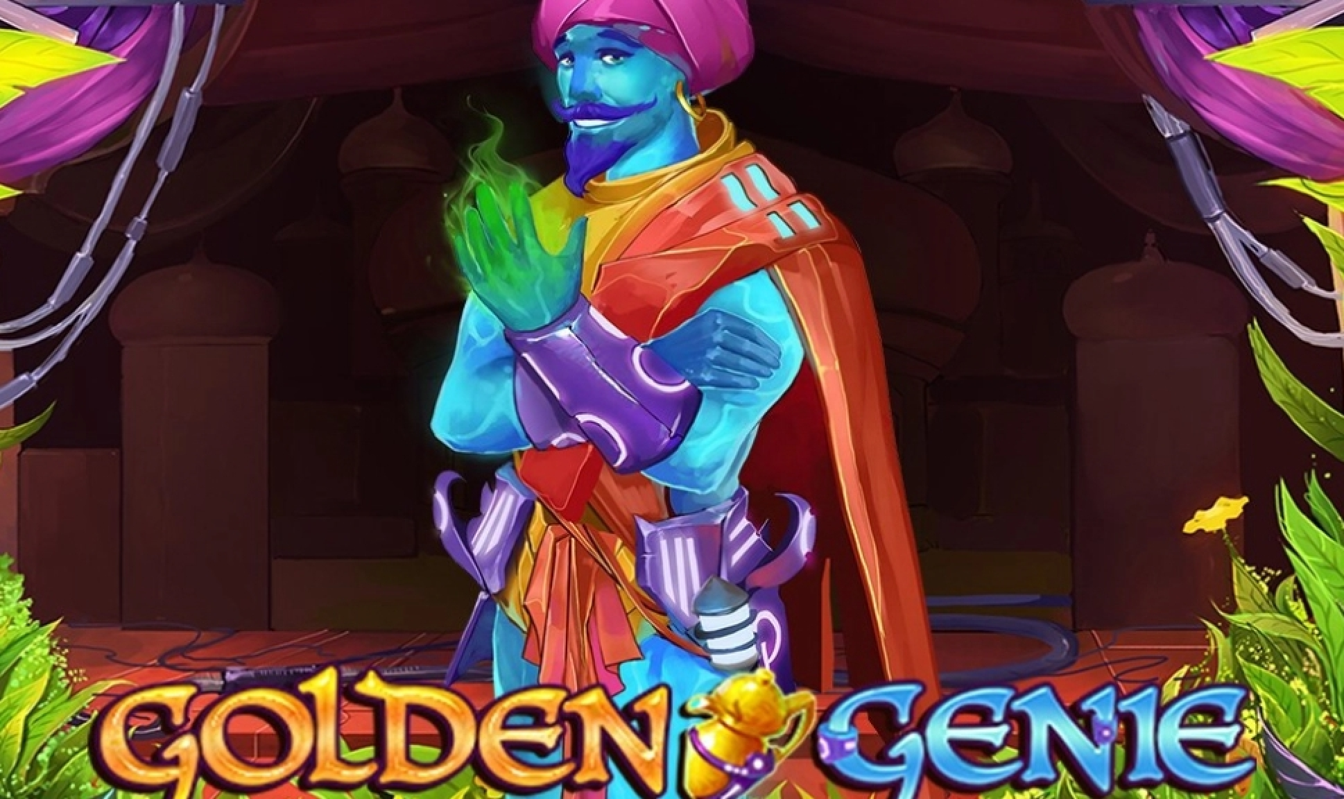 Win Money in Golden Genie (Swintt) Free Slot Game by Swintt