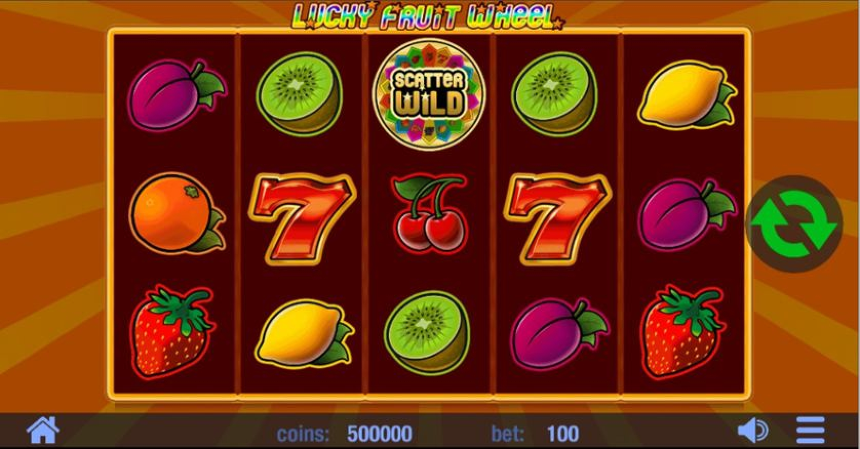 Win Money in Lucky Fruit Wheel Free Slot Game by Swintt