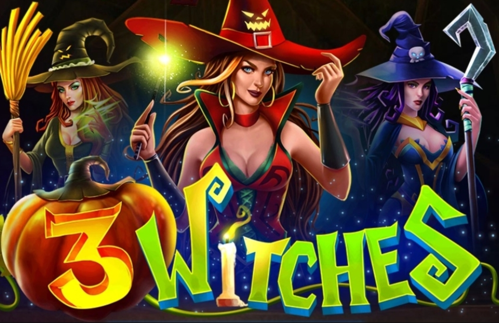 The 3 Witches Online Slot Demo Game by The Stars Group