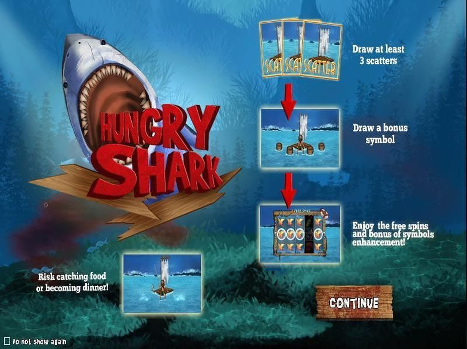 The Hungry Hungry Shark Online Slot Demo Game by Virtual Tech