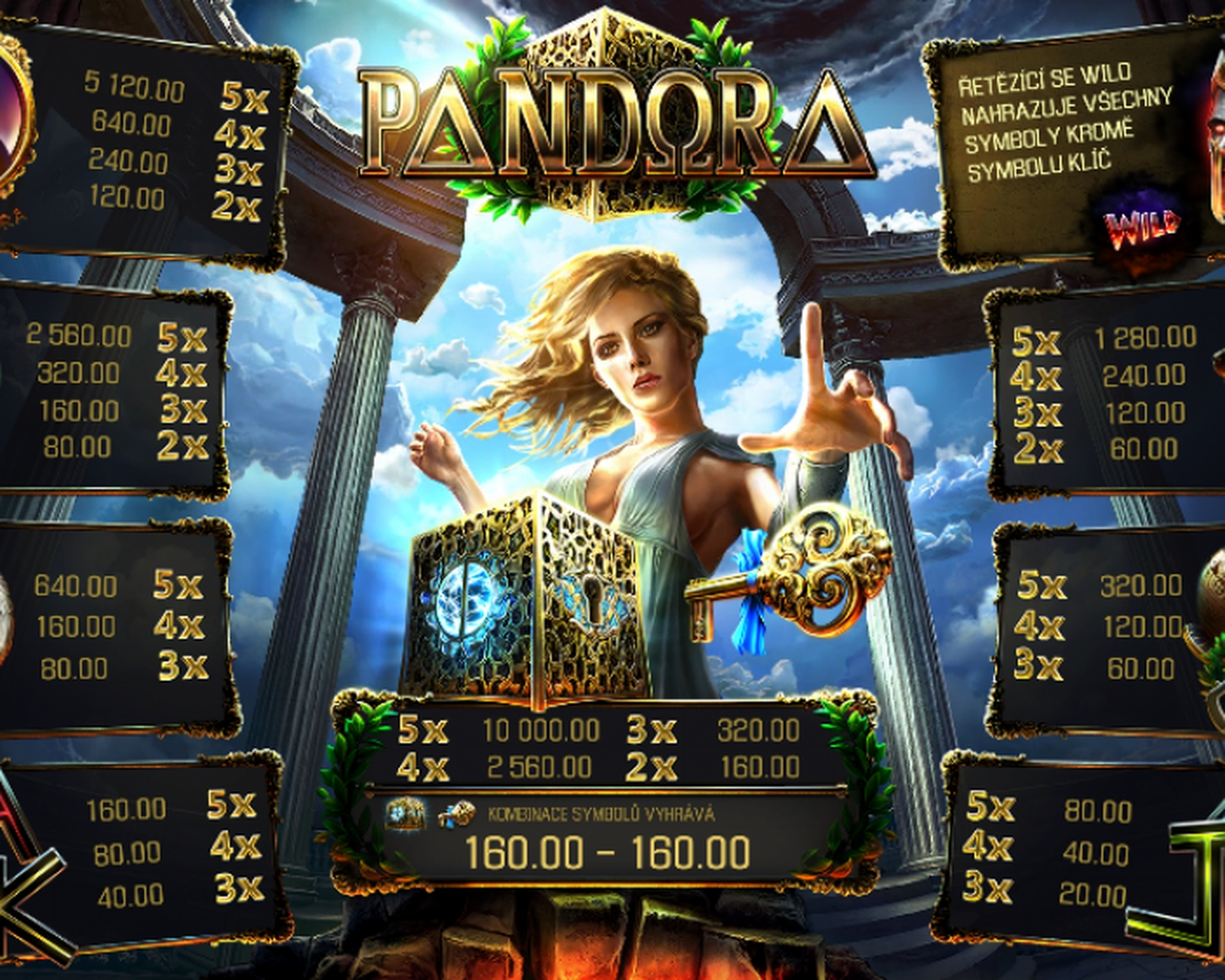 The Pandora Online Slot Demo Game by Apollo Games