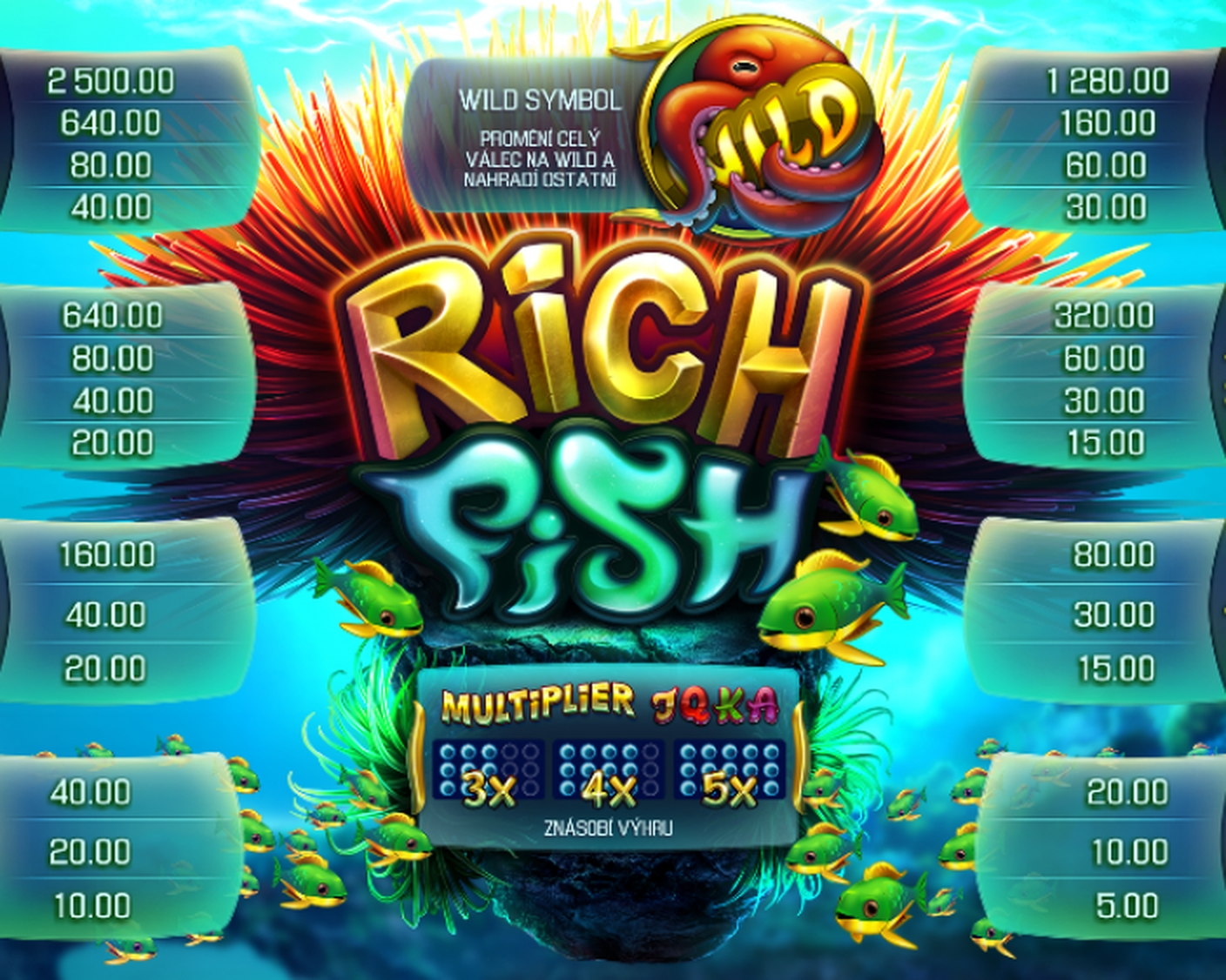 The Rich Fish Online Slot Demo Game by Apollo Games