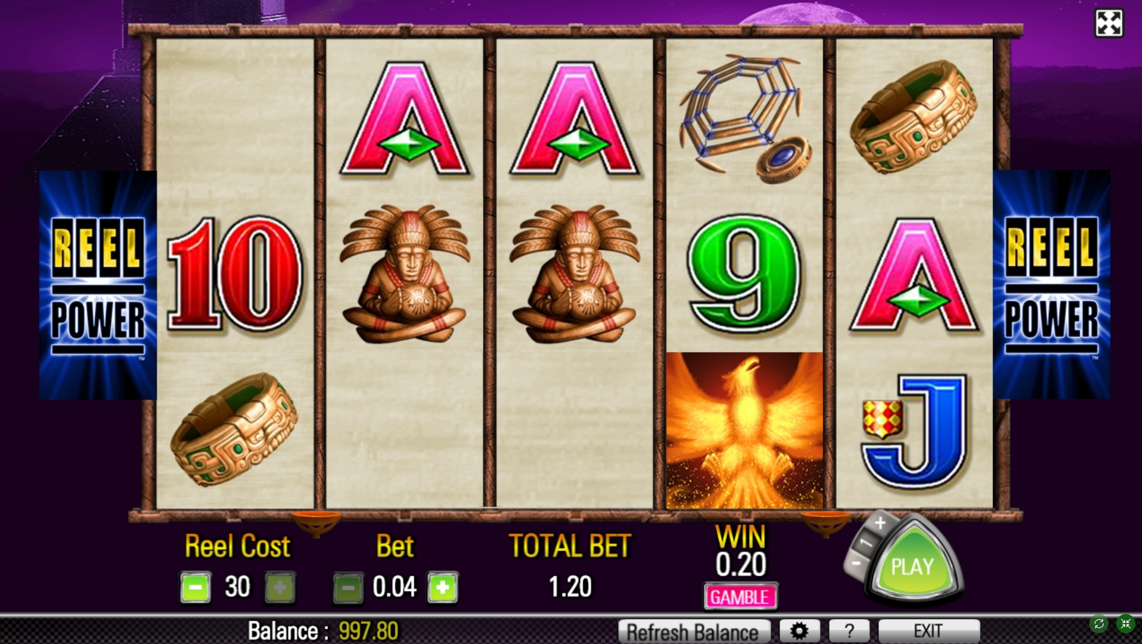 Win Money in Firelight Free Slot Game by Aristocrat