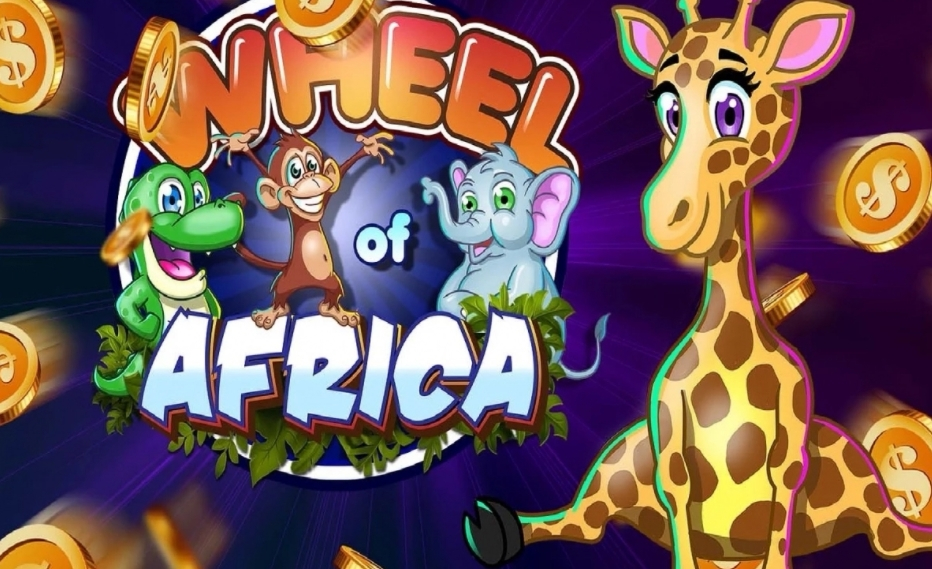 Reels in Wheel of Africa Slot Game by Asylum Labs Inc.