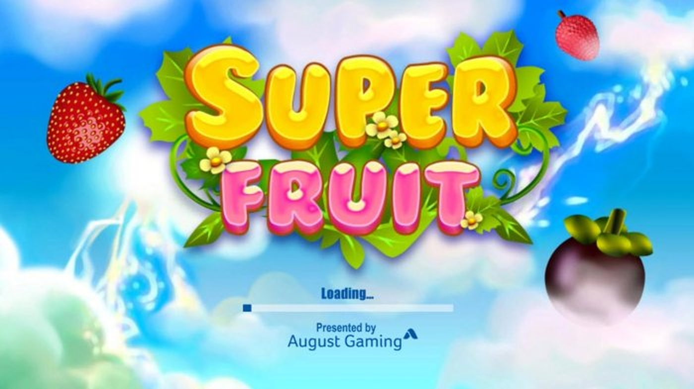 The Super Fruit (August Gaming) Online Slot Demo Game by August Gaming