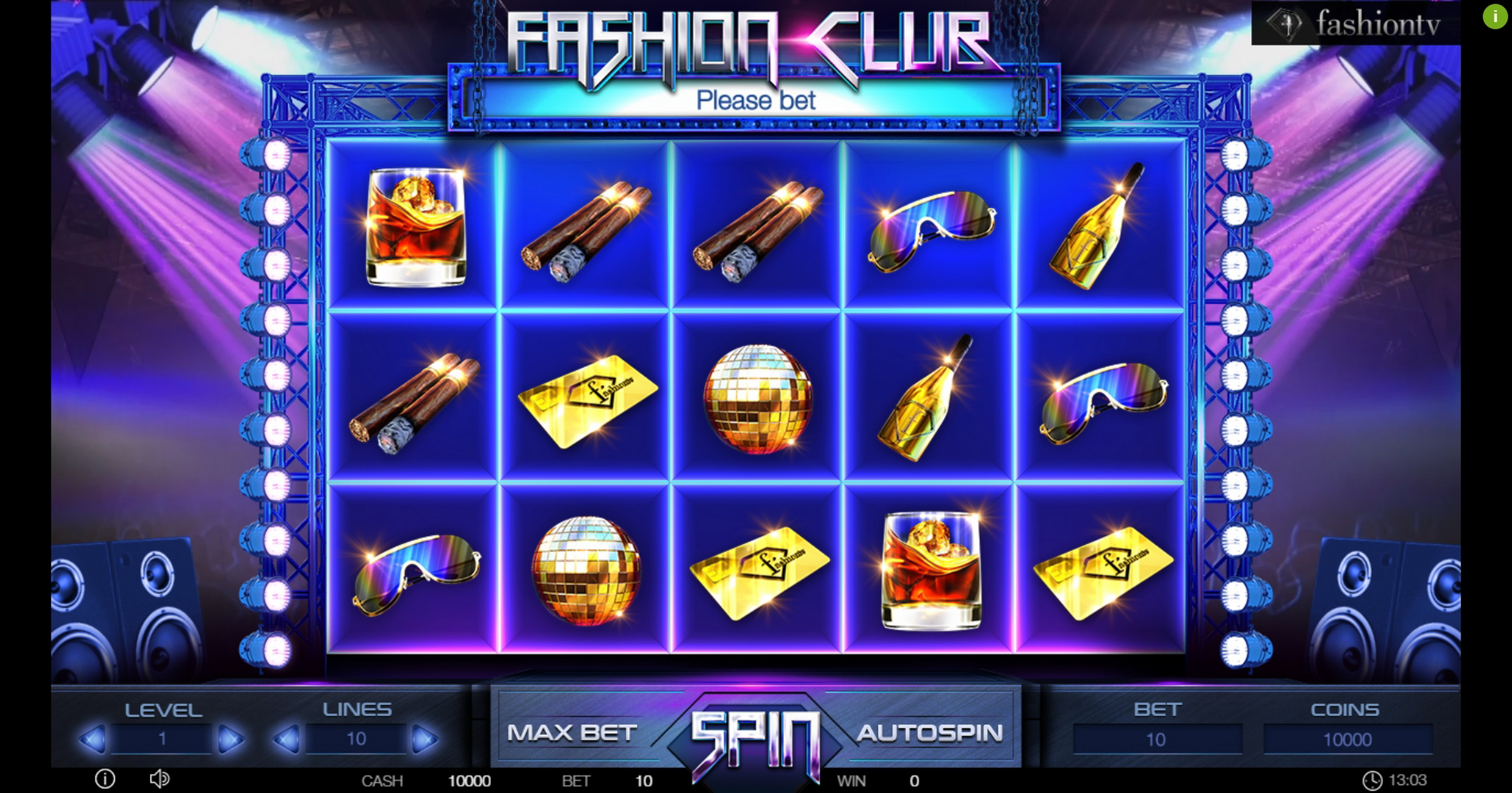 Reels in Fashion Club Slot Game by Betconstruct