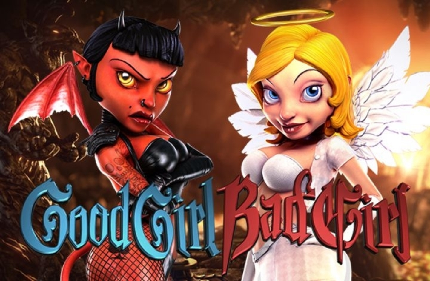The Good Girl Bad Girl Online Slot Demo Game by Betsoft