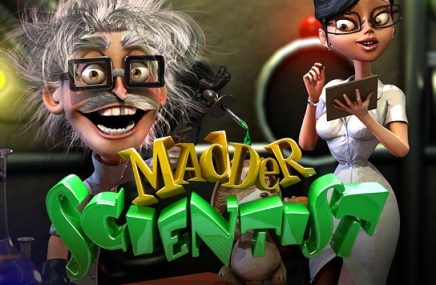 The Madder Scientist Online Slot Demo Game by Betsoft