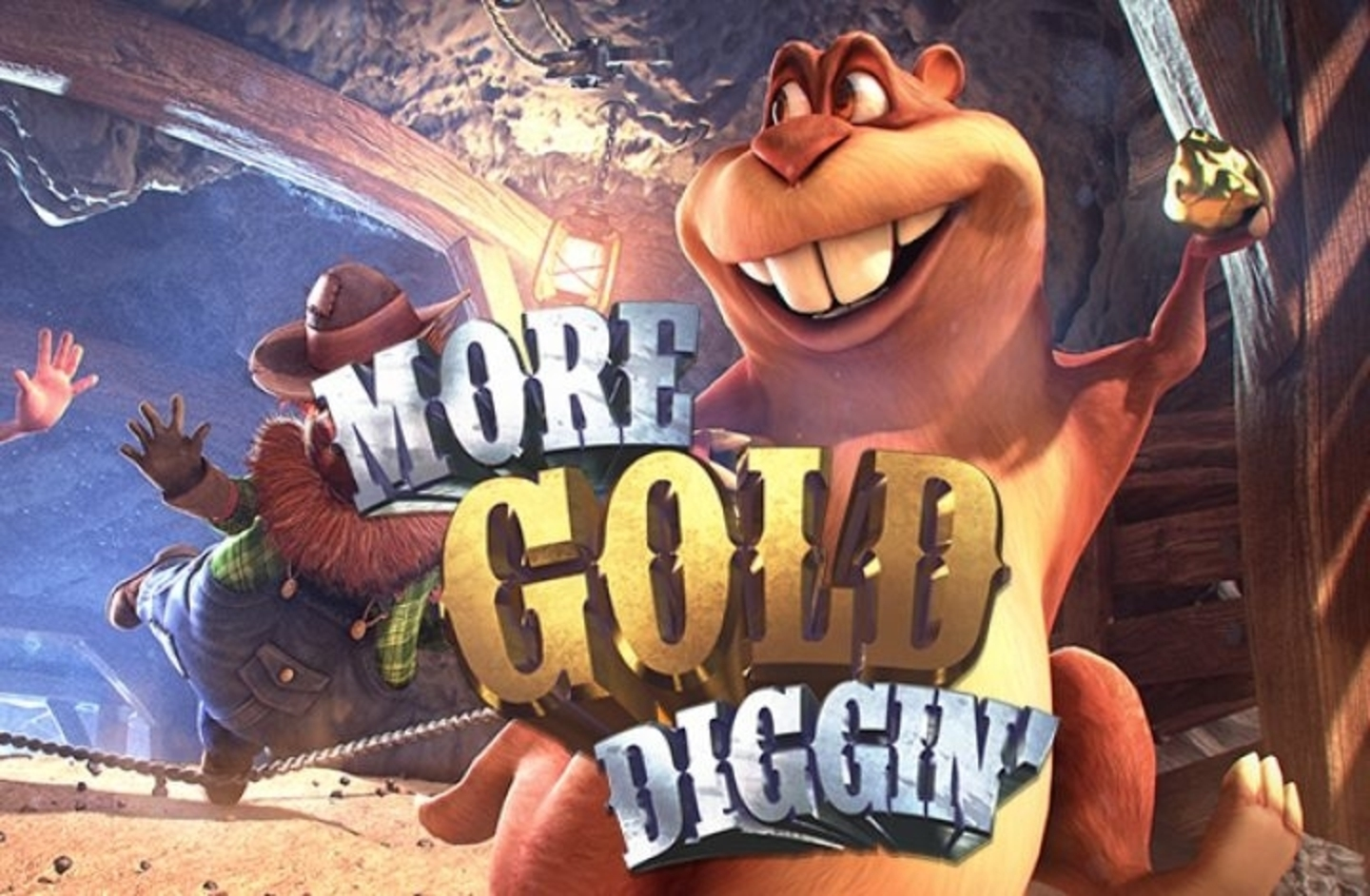 The More Gold Diggin Online Slot Demo Game by Betsoft