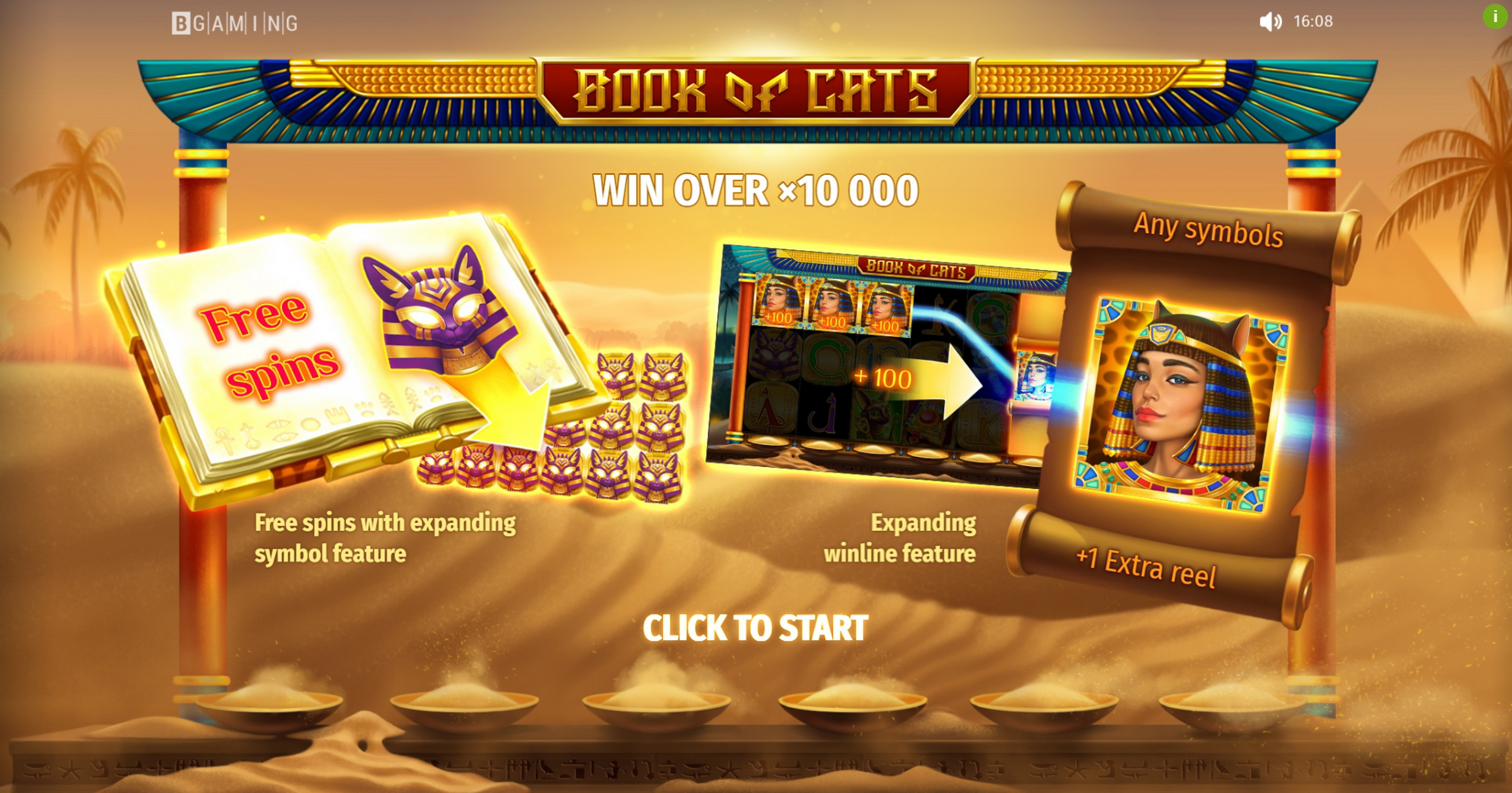 Play Book Of Cats Free Casino Slot Game by BGAMING
