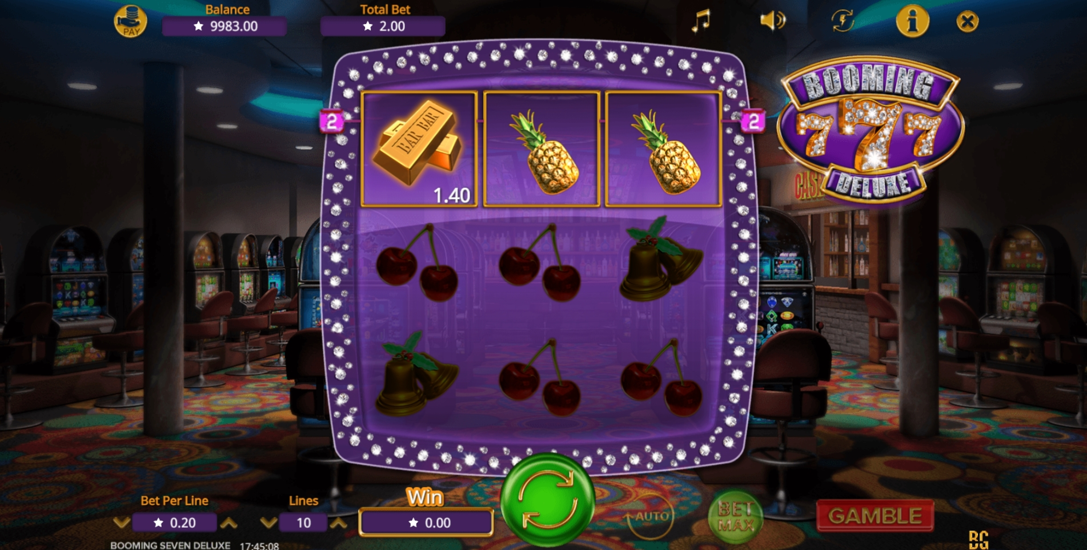 Win Money in Booming Seven Deluxe Free Slot Game by Booming Games