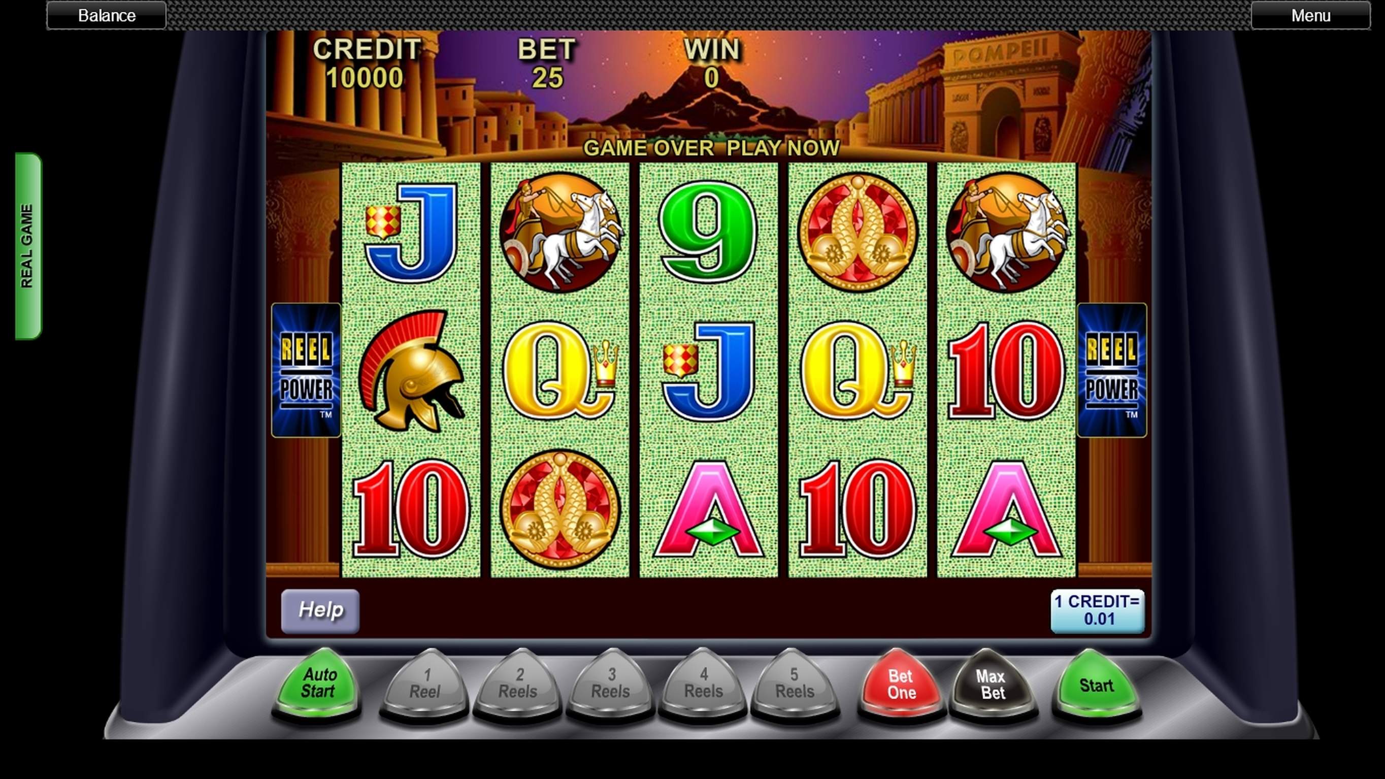Reels in Pompeii (Concept Gaming) Slot Game by Concept Gaming