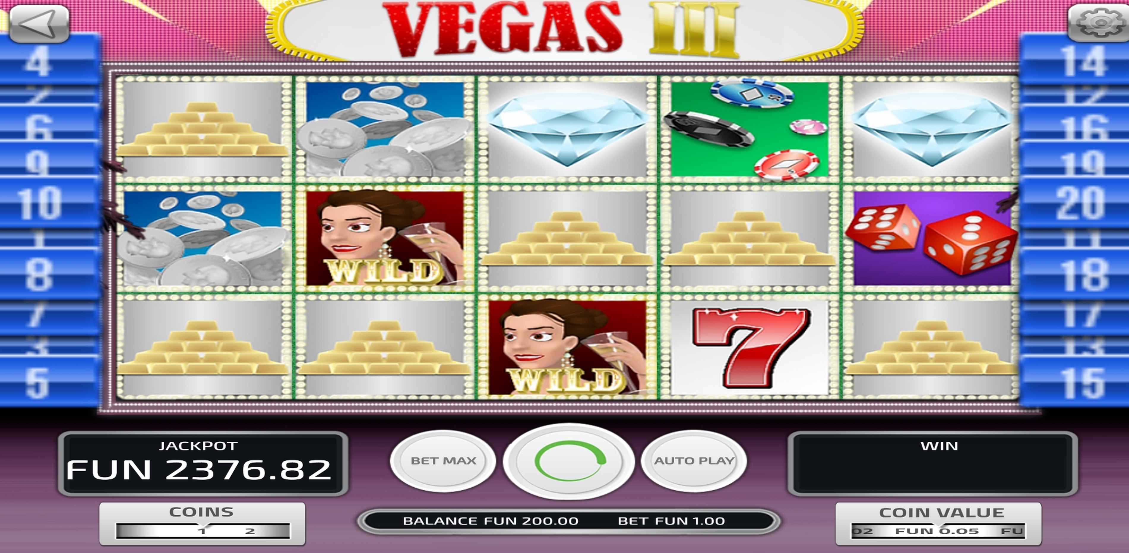 Reels in Vegas III Slot Game by Concept Gaming