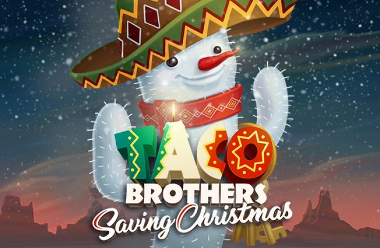 The Taco Brothers Saving Christmas Online Slot Demo Game by ELK Studios