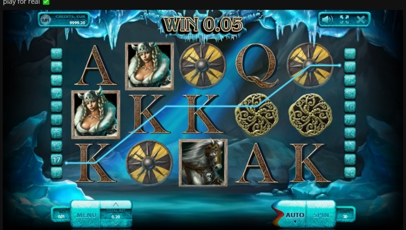 Win Money in The Vikings (Endorphina) Free Slot Game by Endorphina
