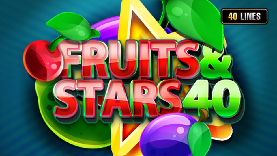 The Fruits & Stars 40 Online Slot Demo Game by Fazi Gaming