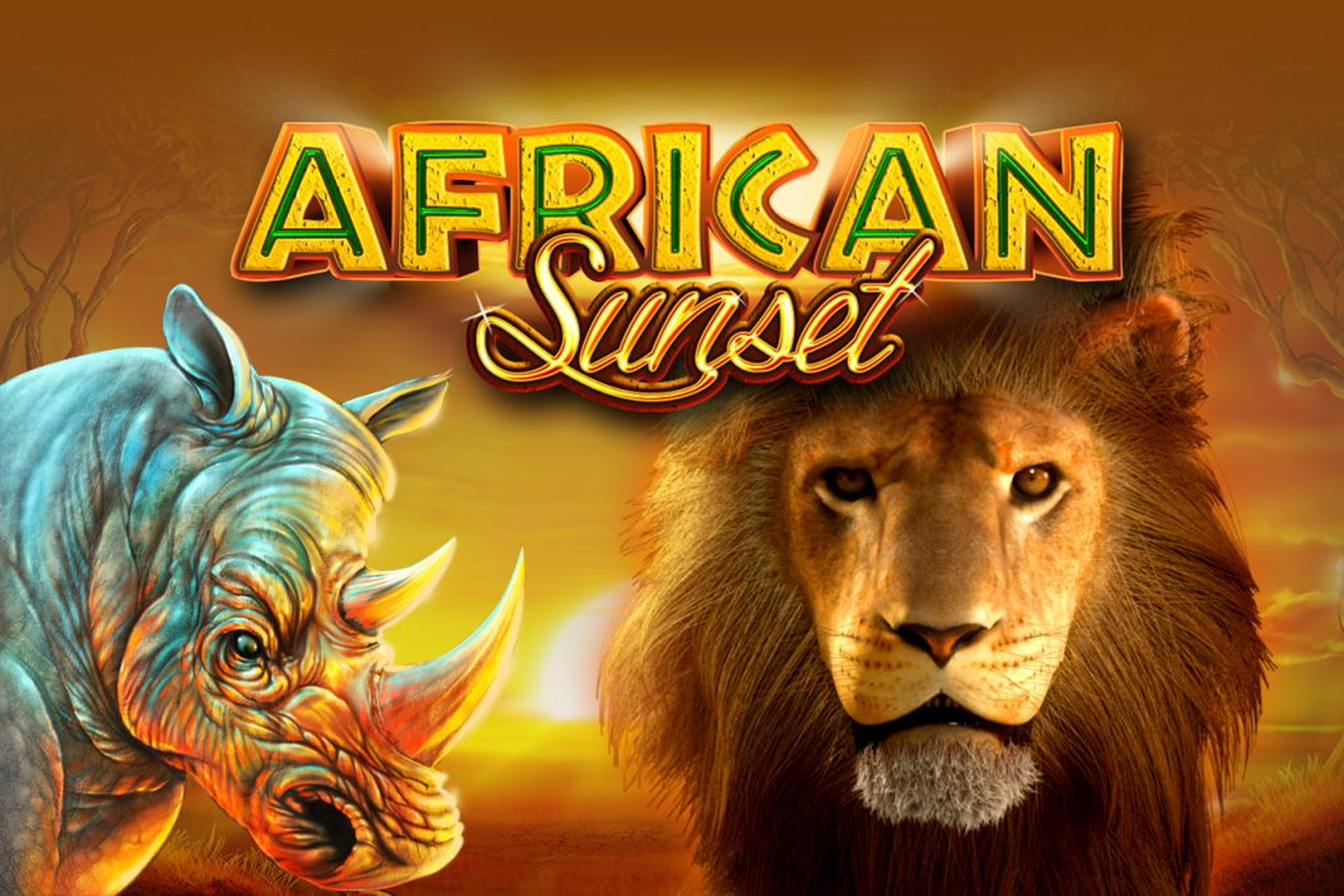 The African Sunset (GameArt) Online Slot Demo Game by GameArt