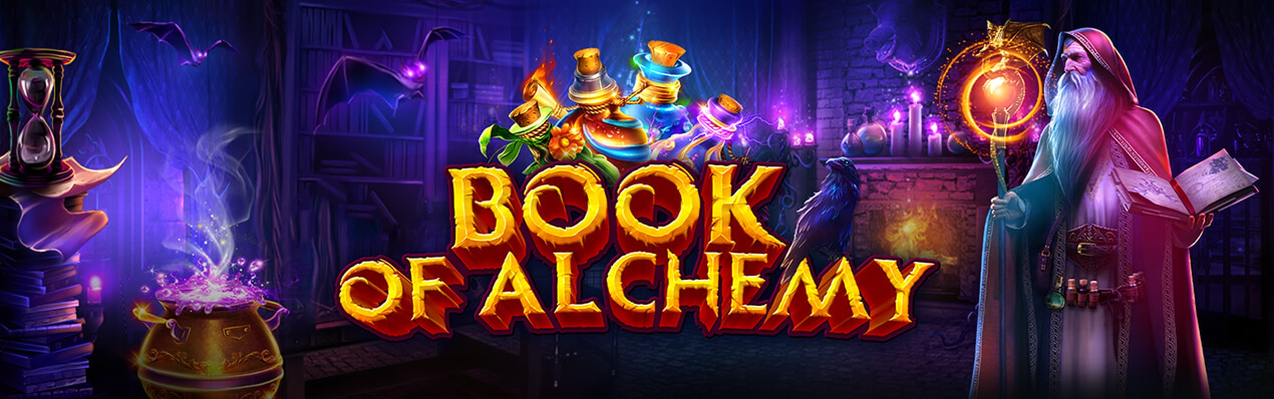 The Book of Alchemy Online Slot Demo Game by GameArt