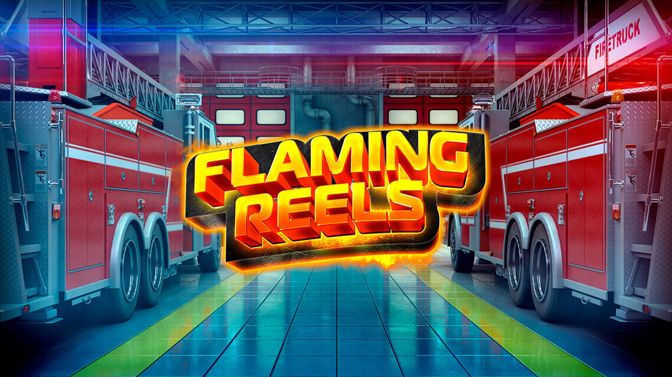 Reels in Flaming Reels Slot Game by GameArt