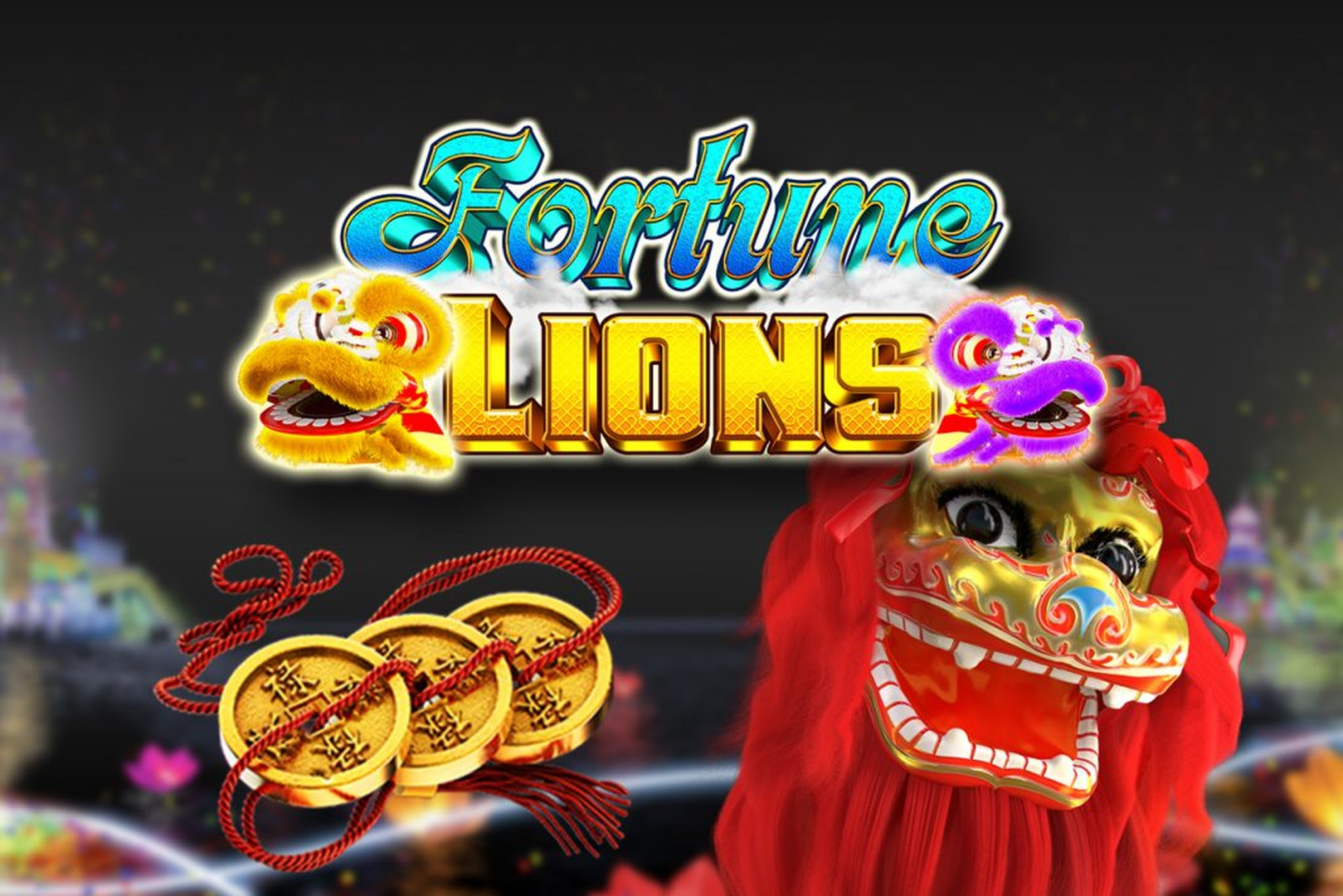 The Fortune Lions (GameArt) Online Slot Demo Game by GameArt
