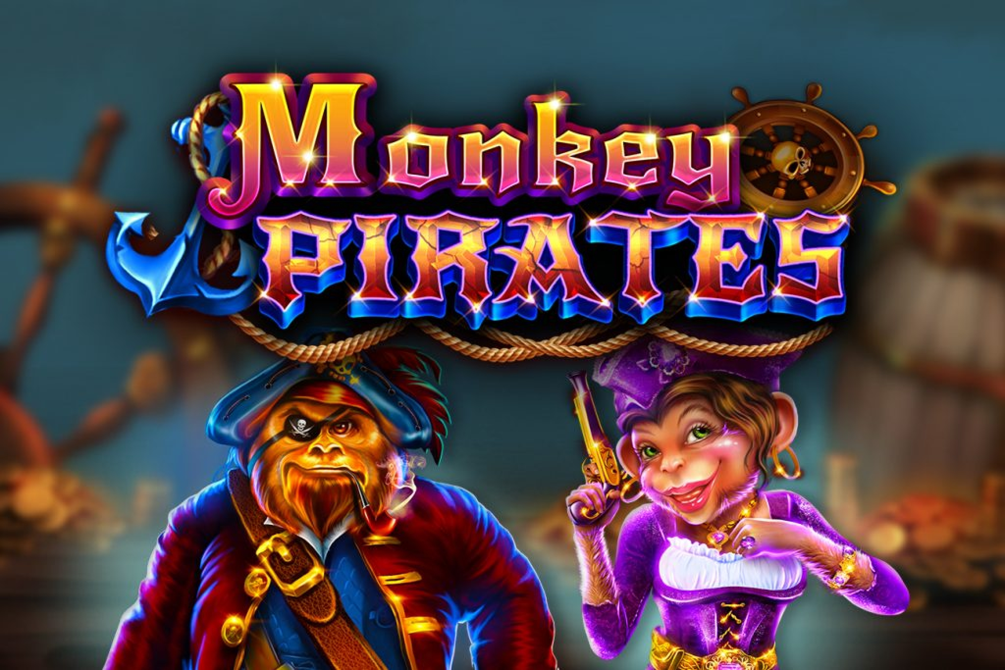 The Monkey Pirates Online Slot Demo Game by GameArt