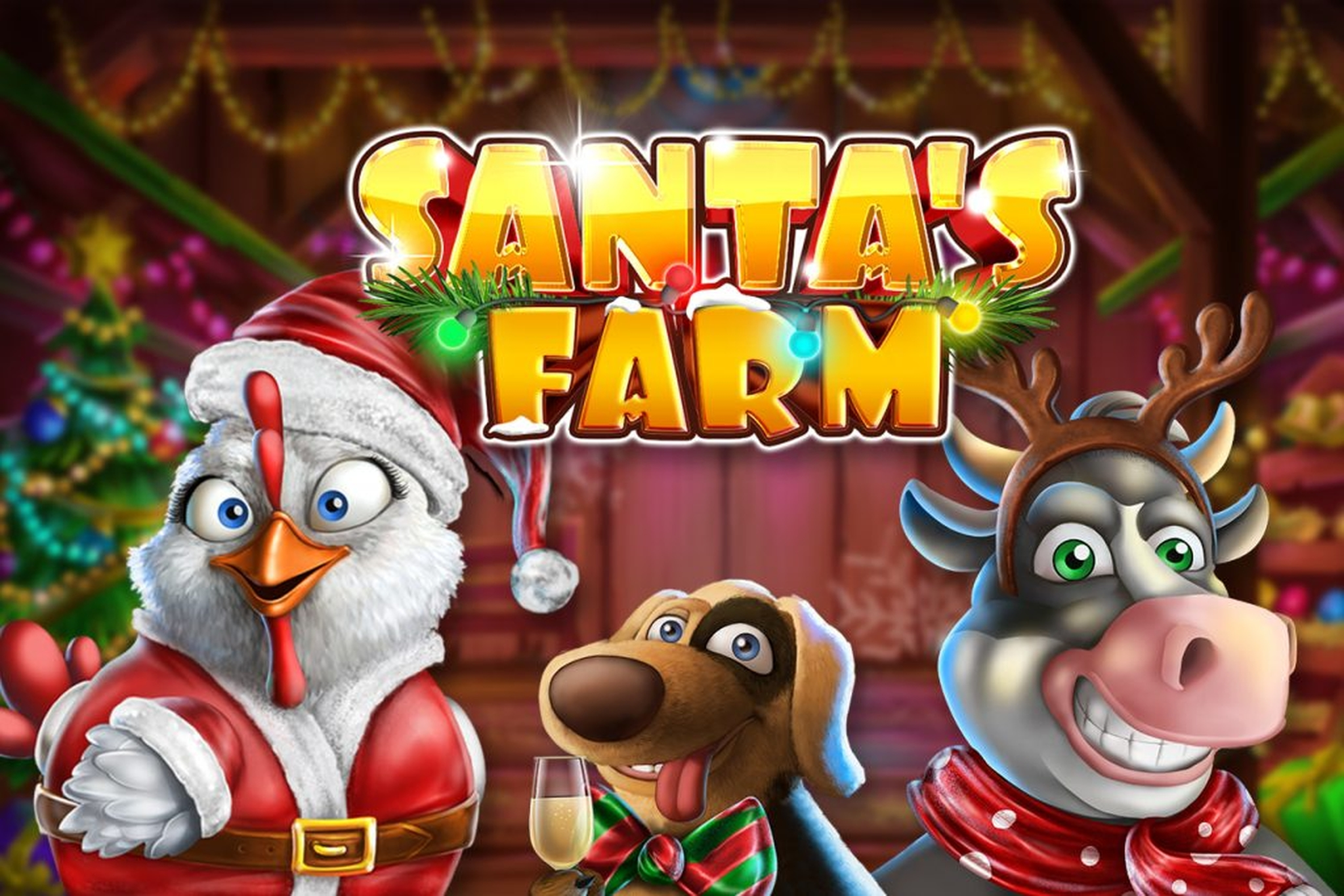 The Santa's Farm Online Slot Demo Game by GameArt
