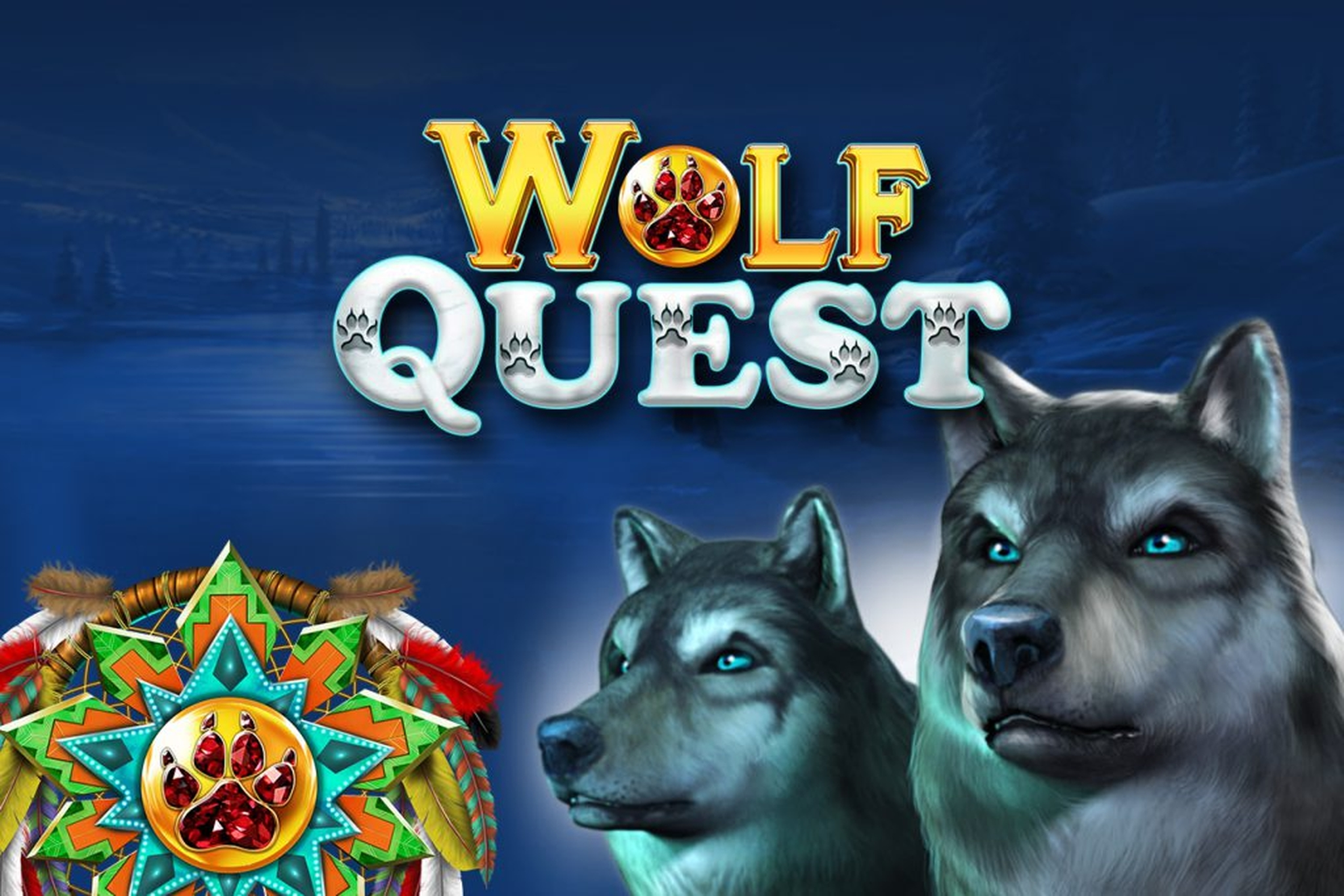 The Wolf Quest Online Slot Demo Game by GameArt