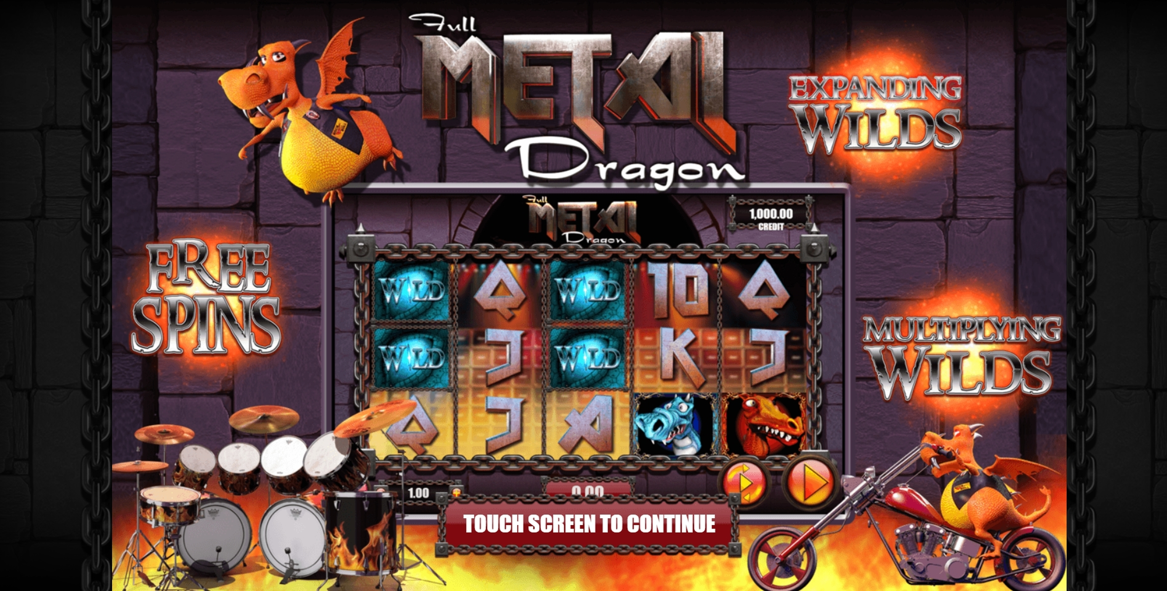 Play Full Metal Dragon Free Casino Slot Game by Games Warehouse