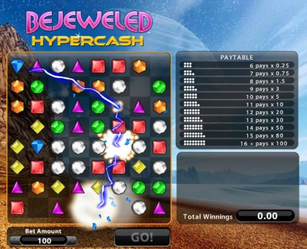 The Bejeweled Hypercash Online Slot Demo Game by Gamesys