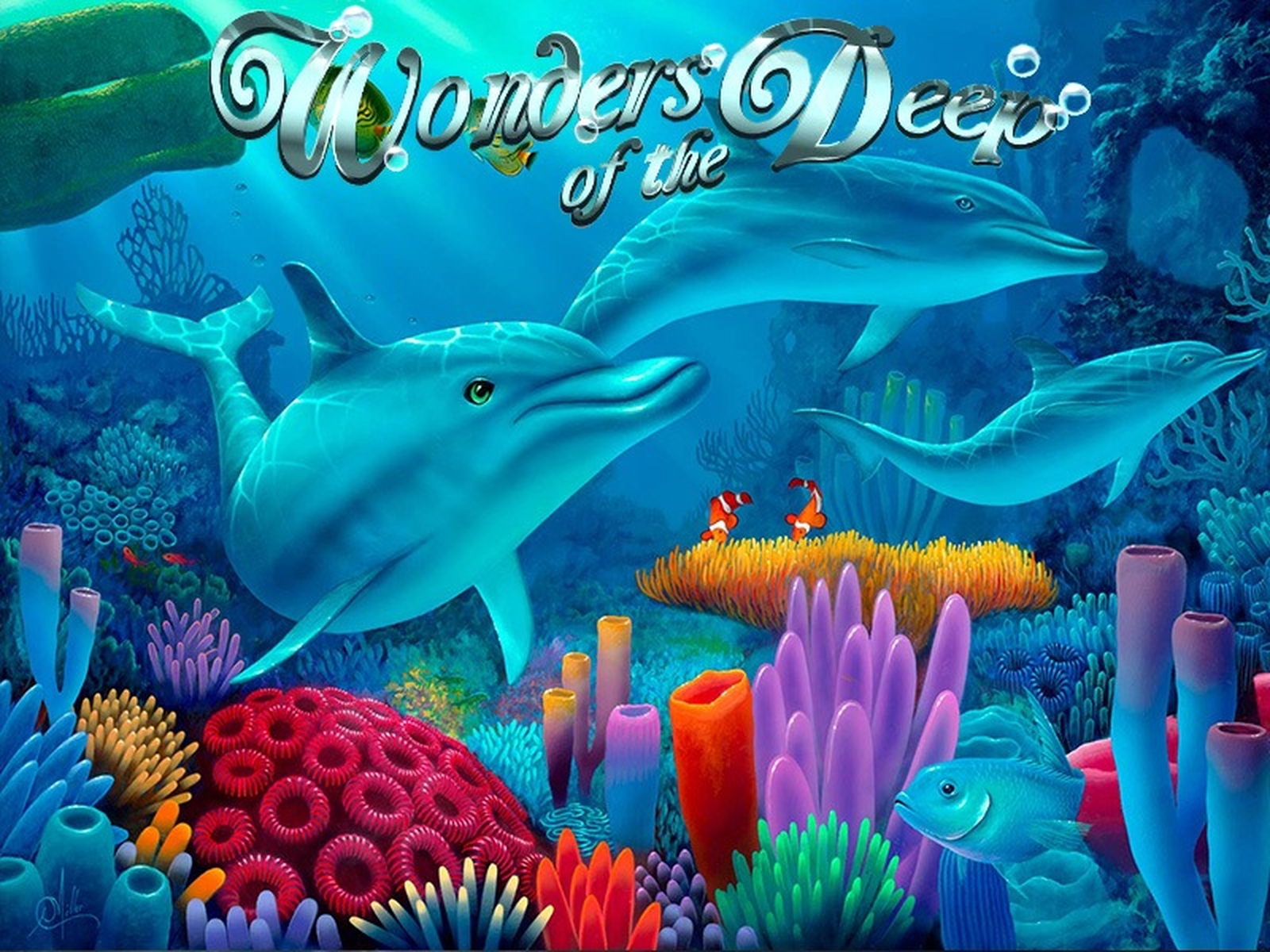The Wonders of the Deep Online Slot Demo Game by Gamesys