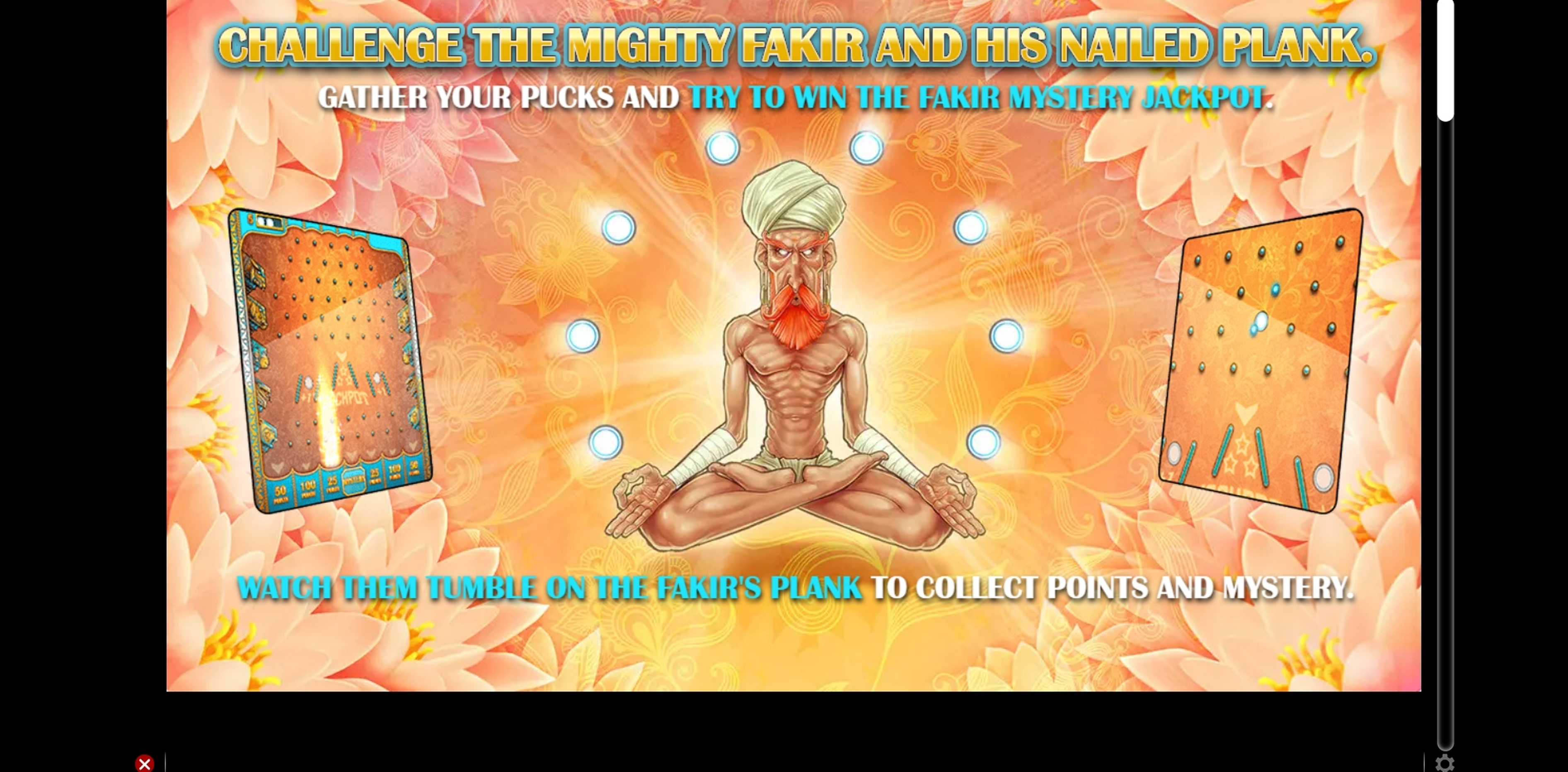 Info of Fakir Dice Slot Game by GAMING1