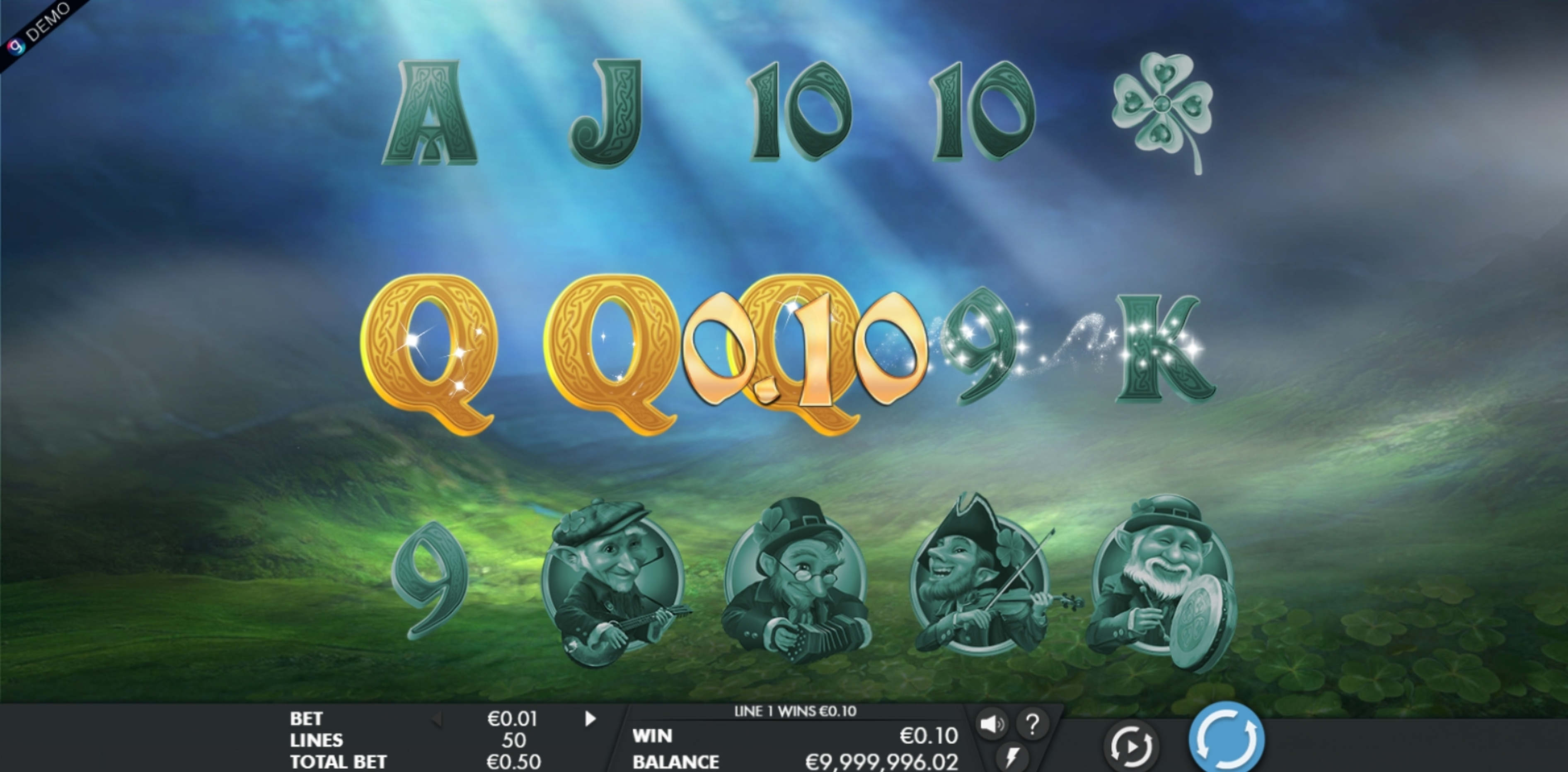 Win Money in Leprechaun Legends Free Slot Game by Genesis