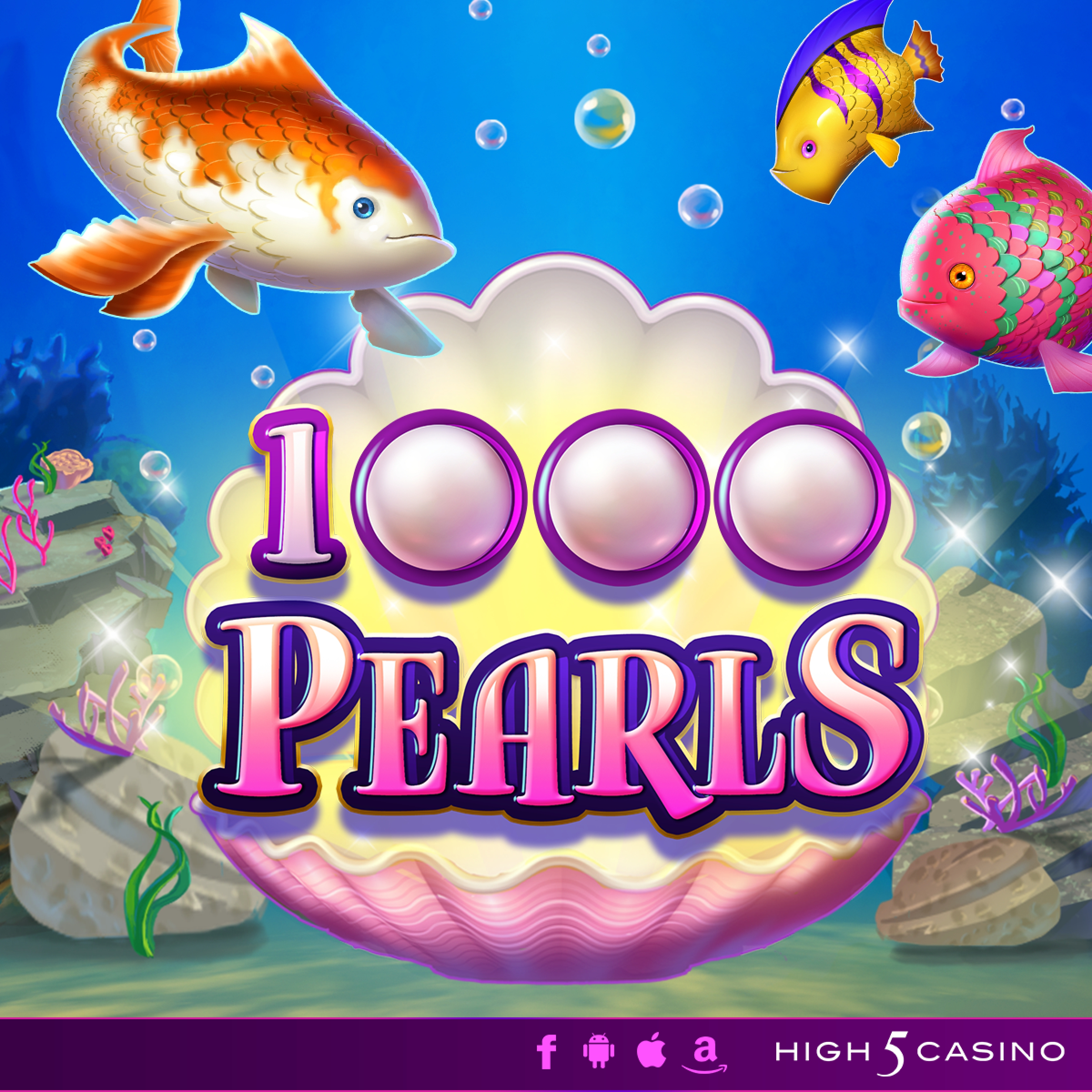 The 1000 Pearls Online Slot Demo Game by High 5 Games